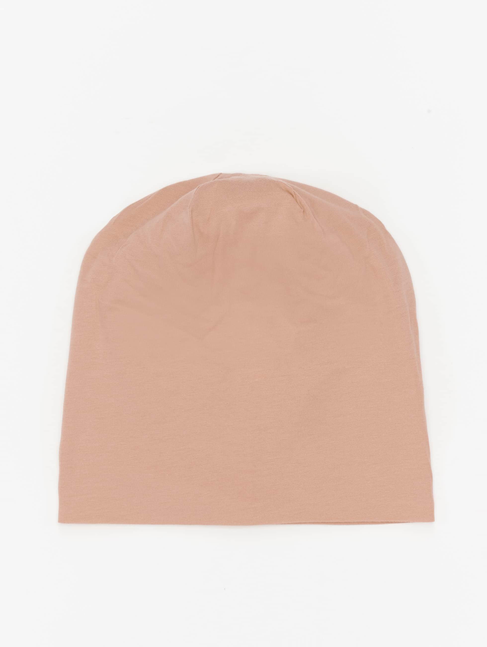 MSTRDS Beanie Pastel Jersey beige