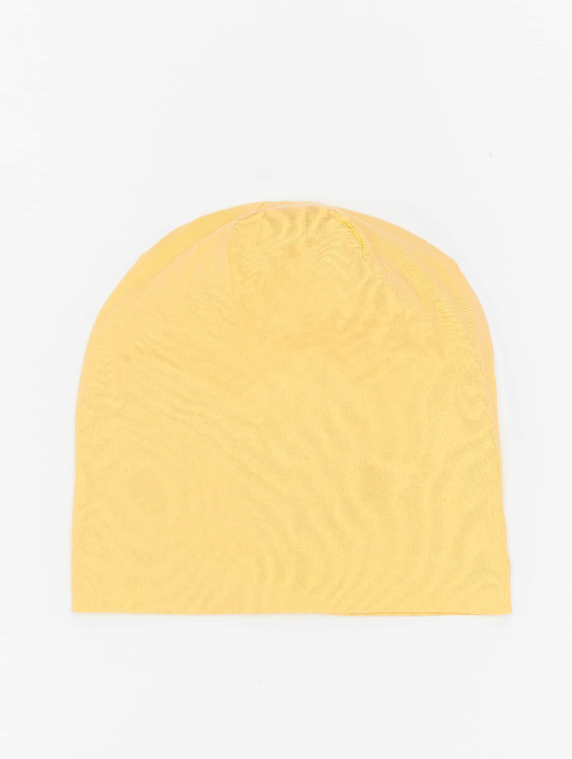 MSTRDS Beanie Pastel Jersey gelb