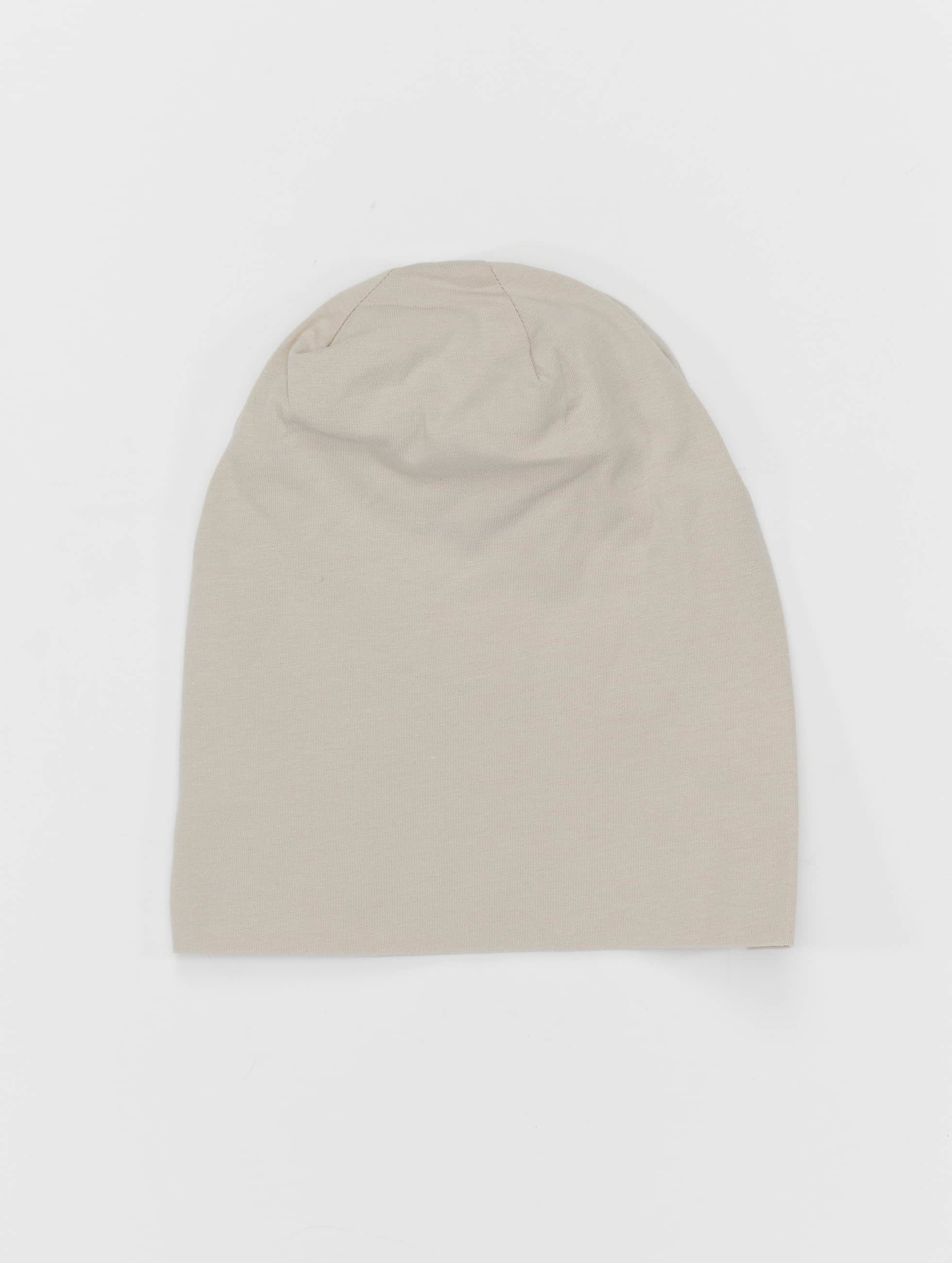 MSTRDS Beanie Pastel Jersey grijs
