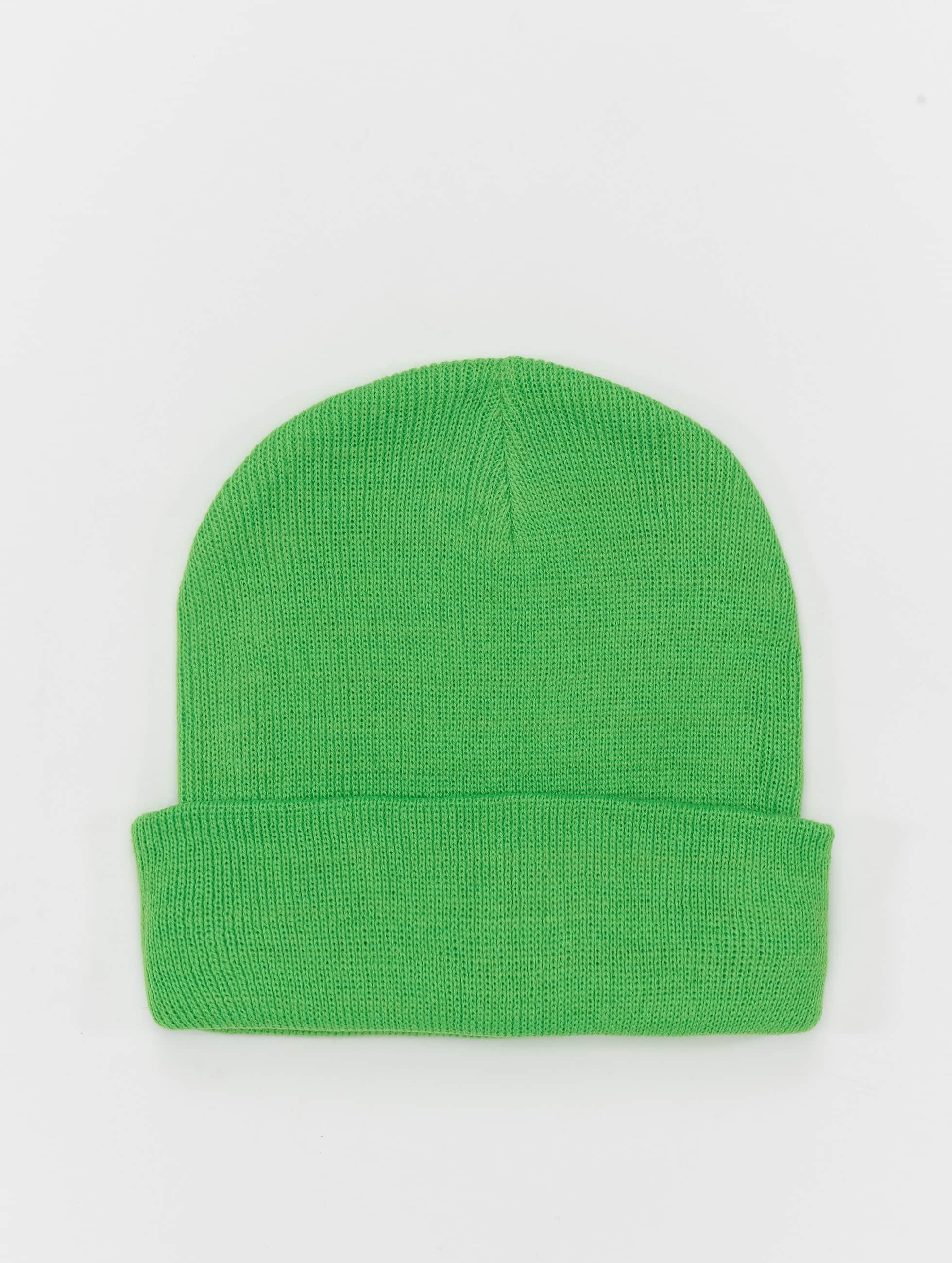 MSTRDS Beanie Basic Flap groen
