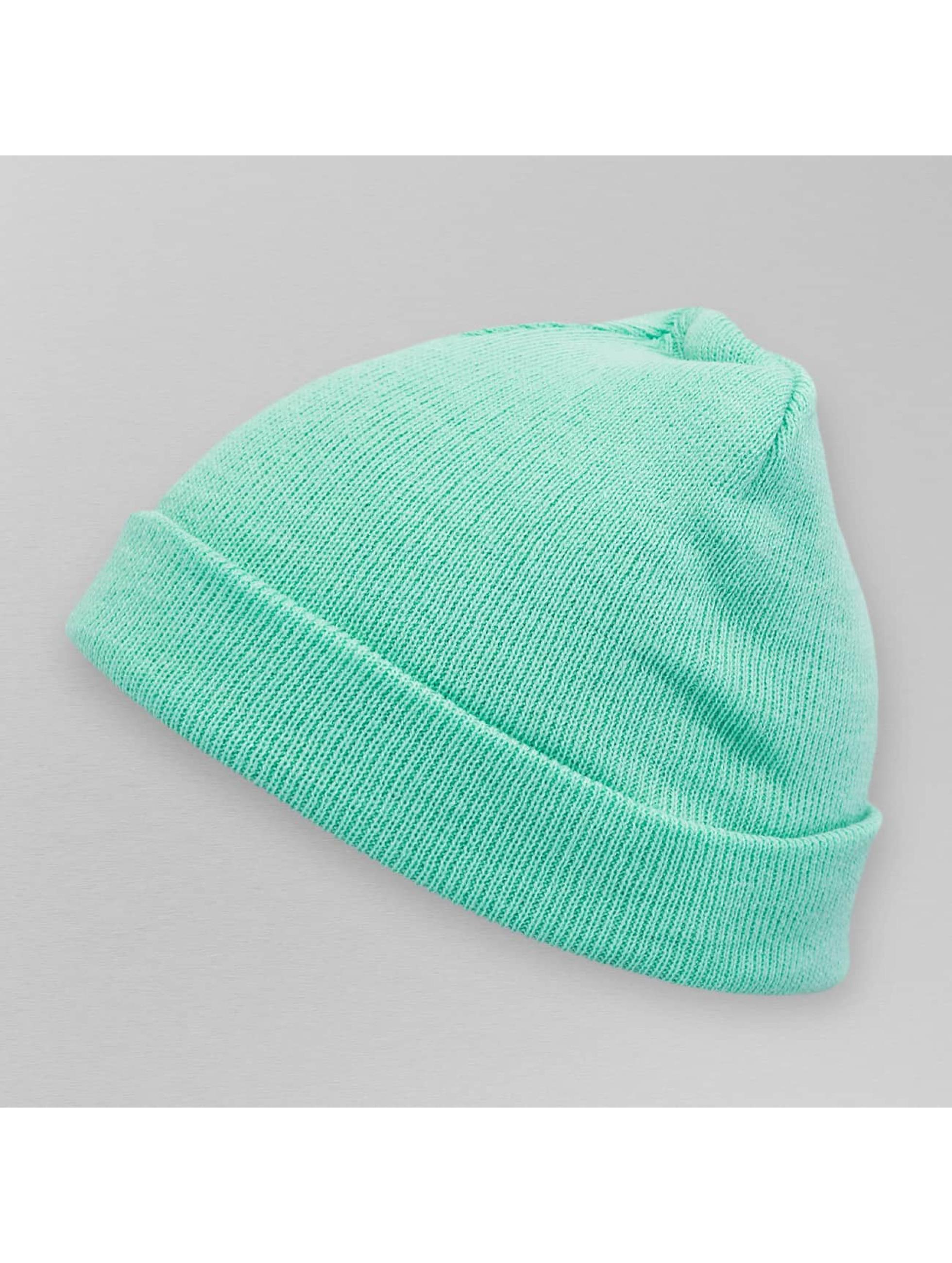 MSTRDS Beanie Pastel Basic Flap groen