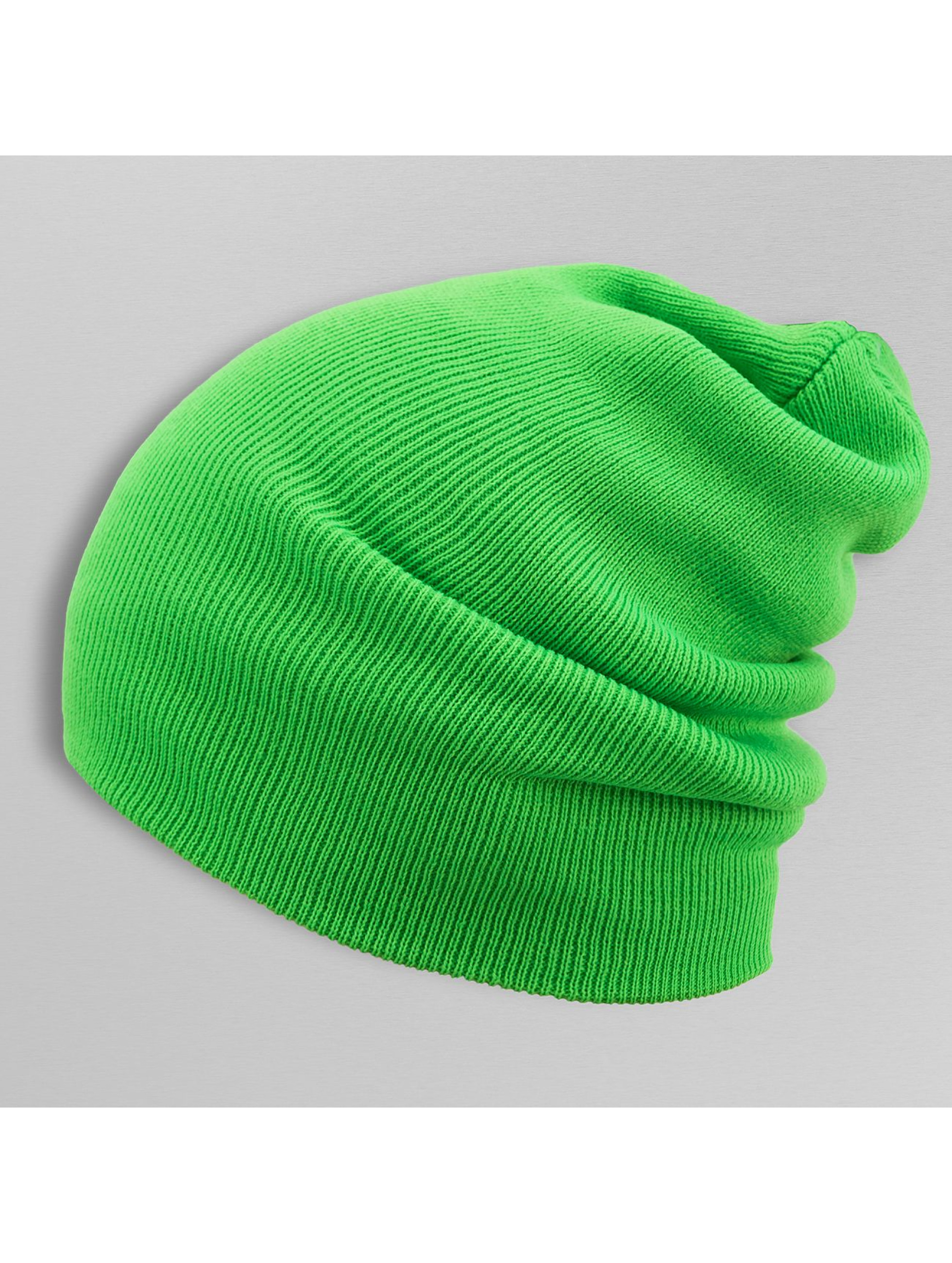 MSTRDS Beanie Basic Flap Long grün