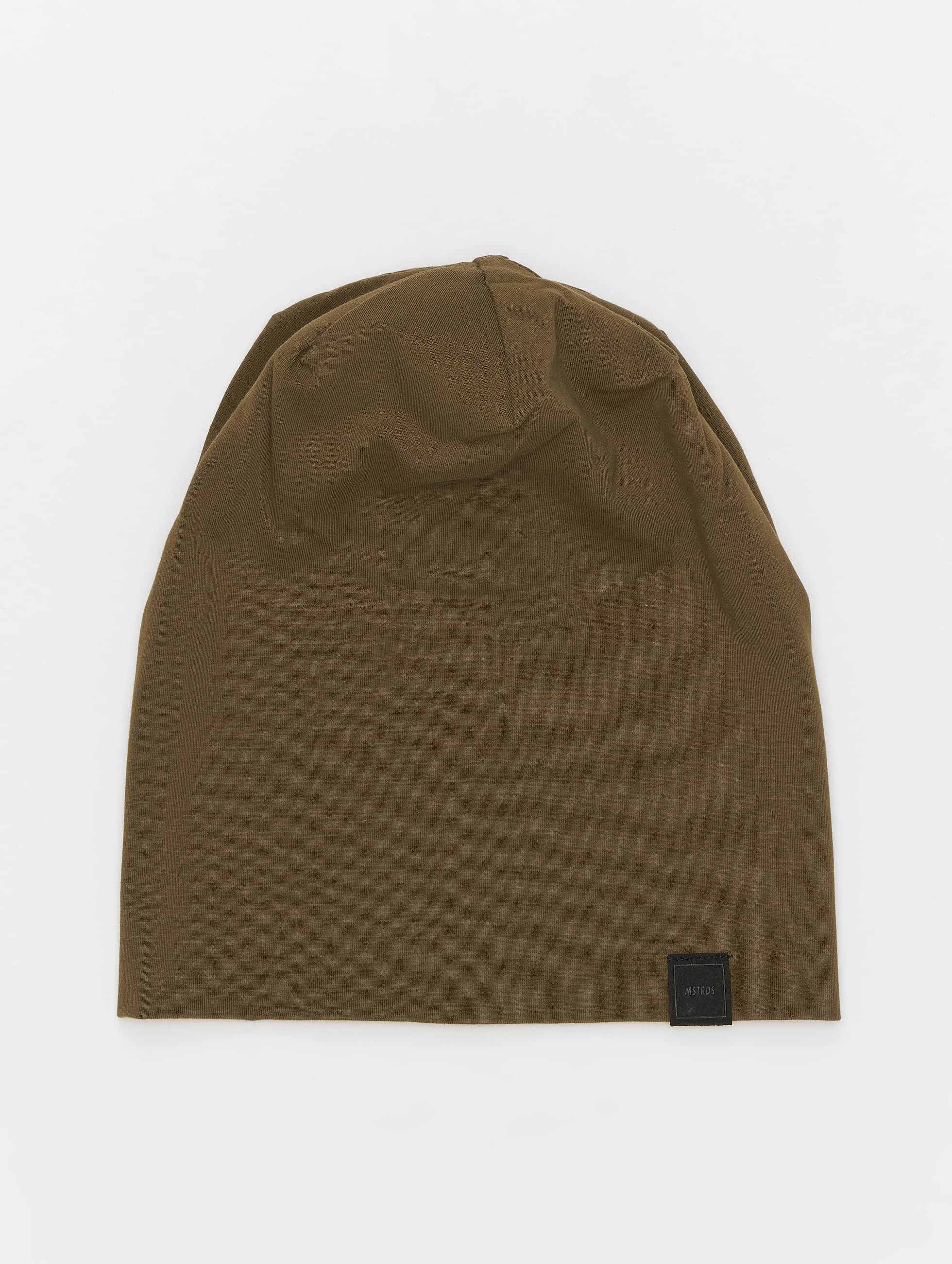 MSTRDS Beanie Jersey olive