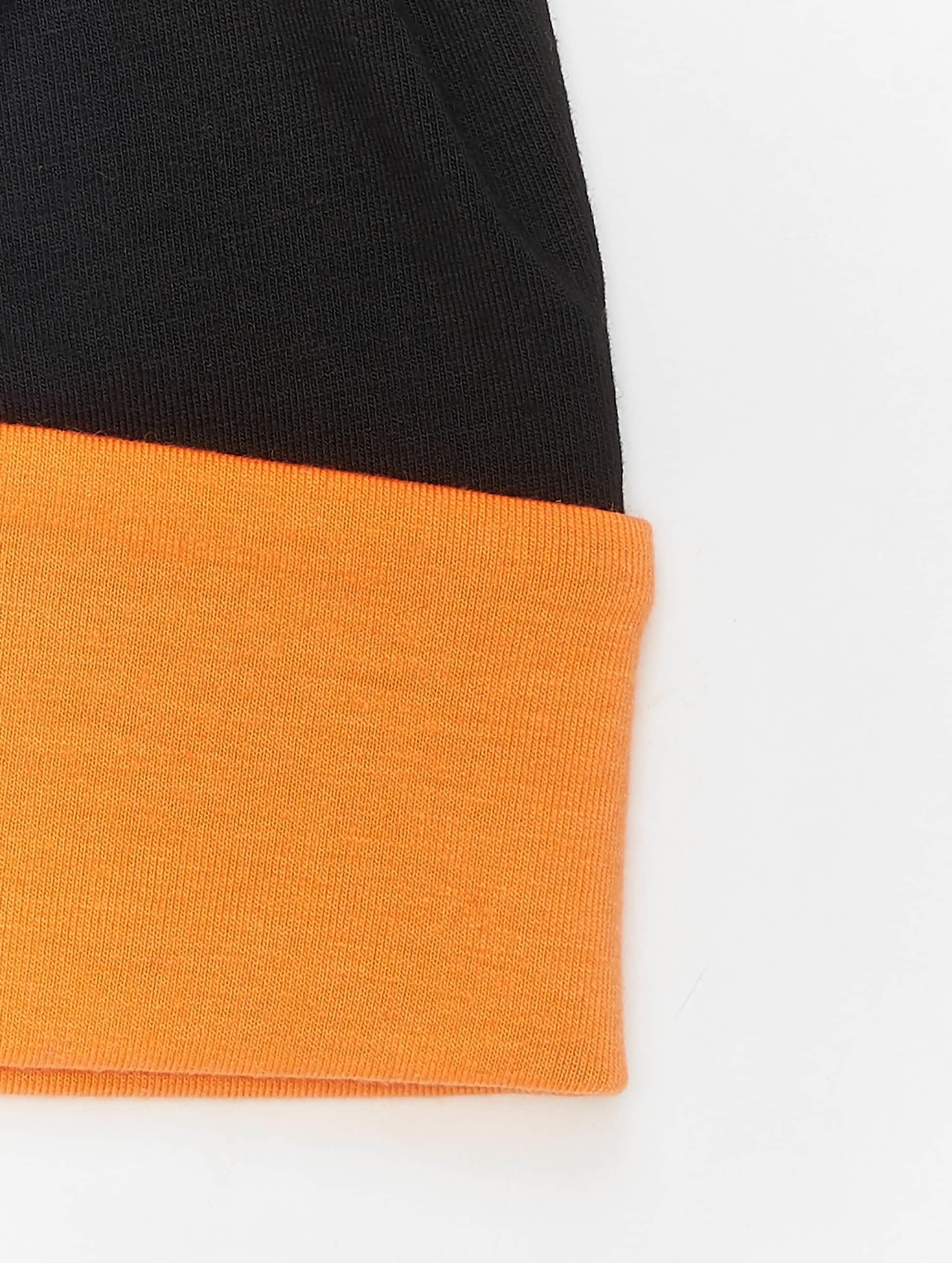 MSTRDS Beanie Jersey Reversible oranje