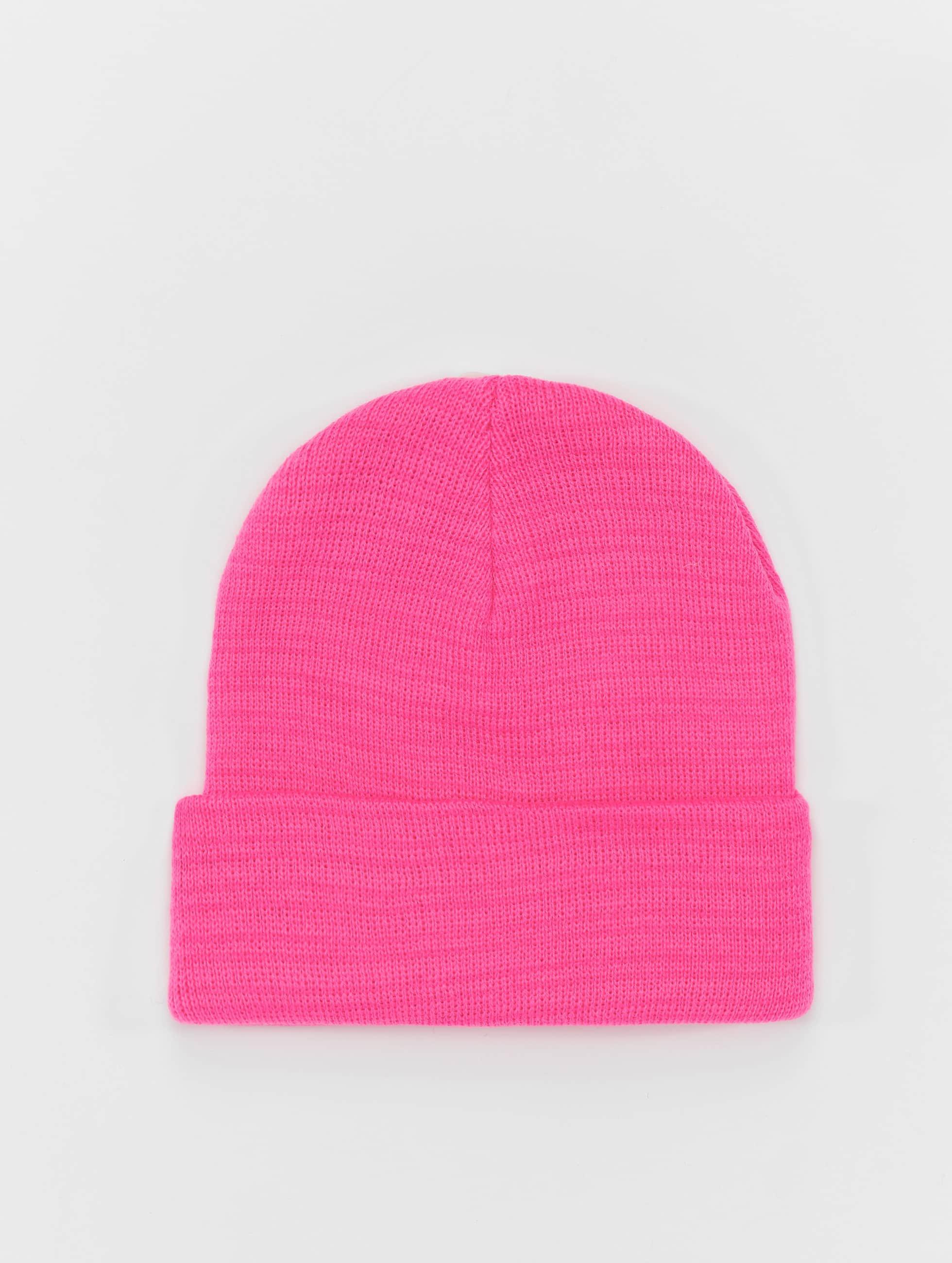 Beanie Basic Flap in pink