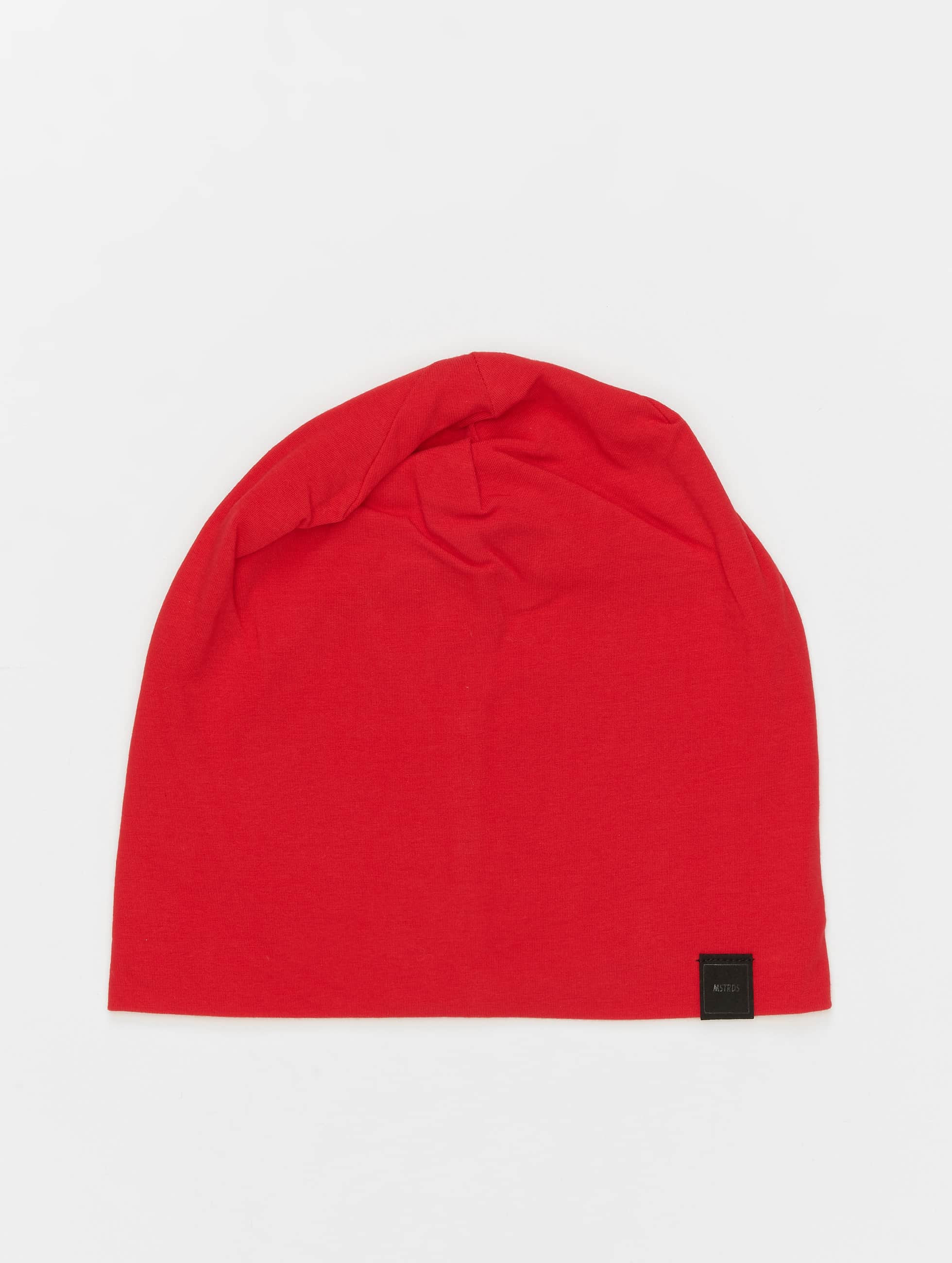 MSTRDS Beanie Jersey red
