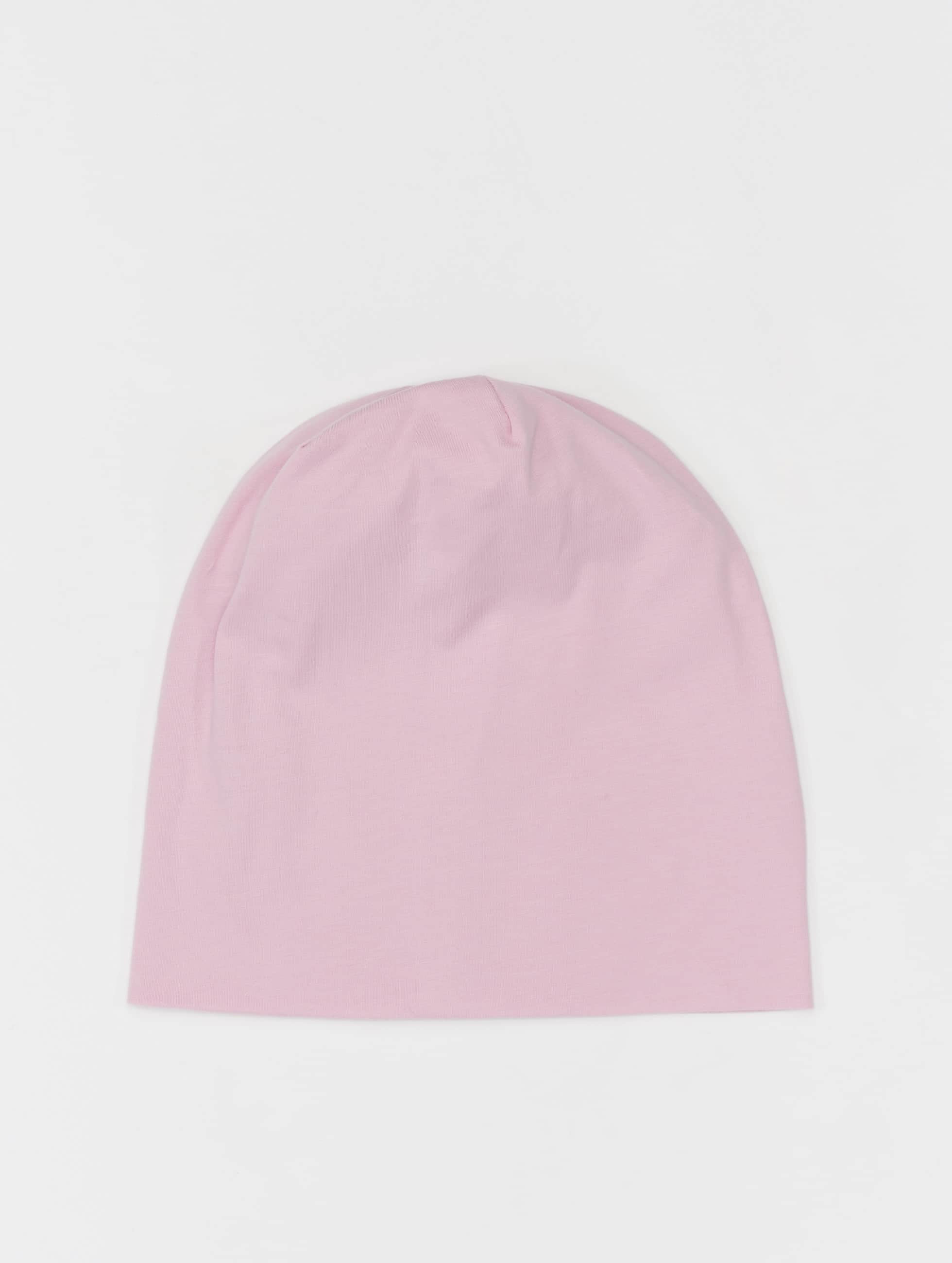 MSTRDS Beanie Pastel Jersey rose