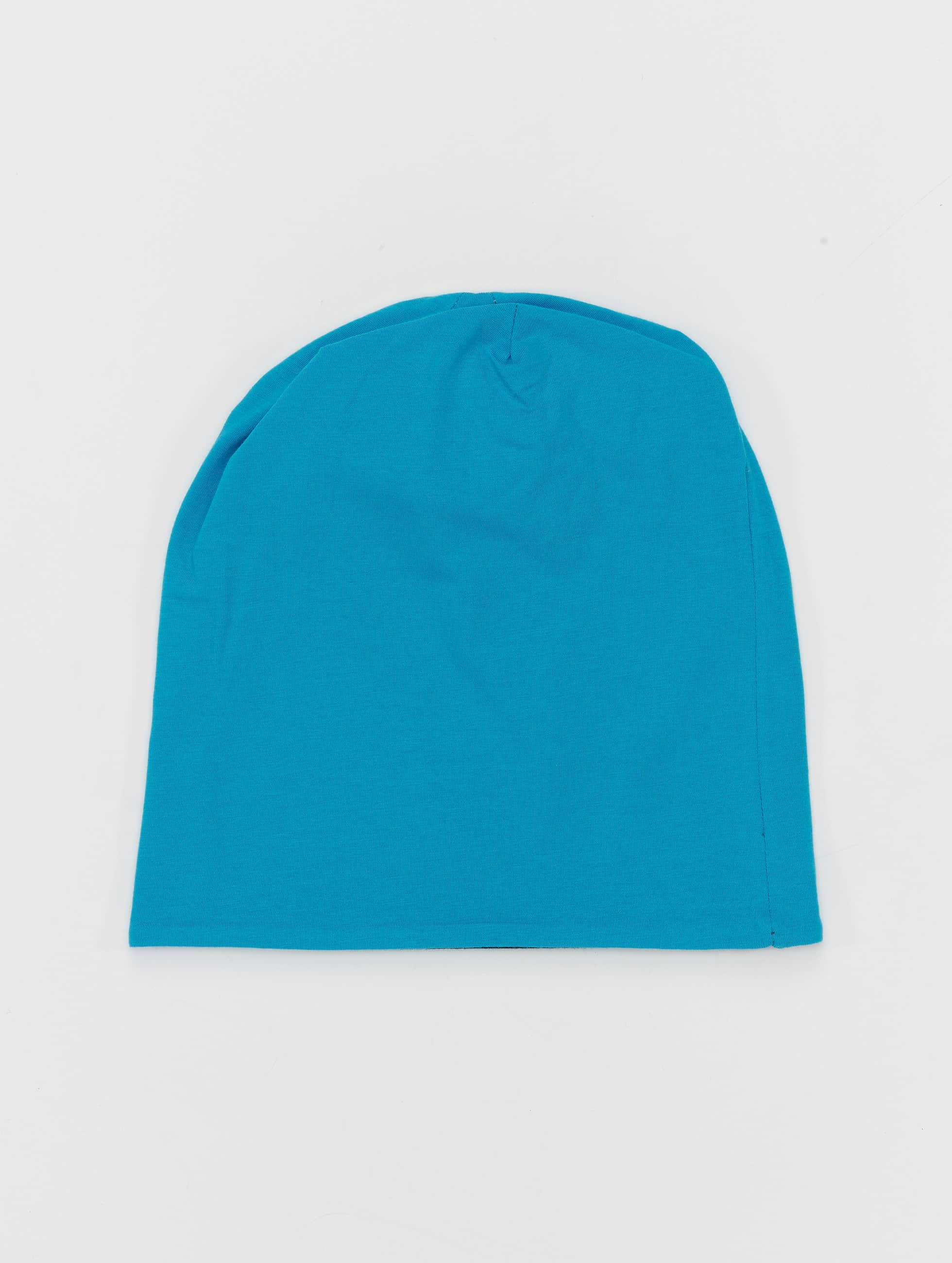 MSTRDS Beanie Jersey Reversible turquois