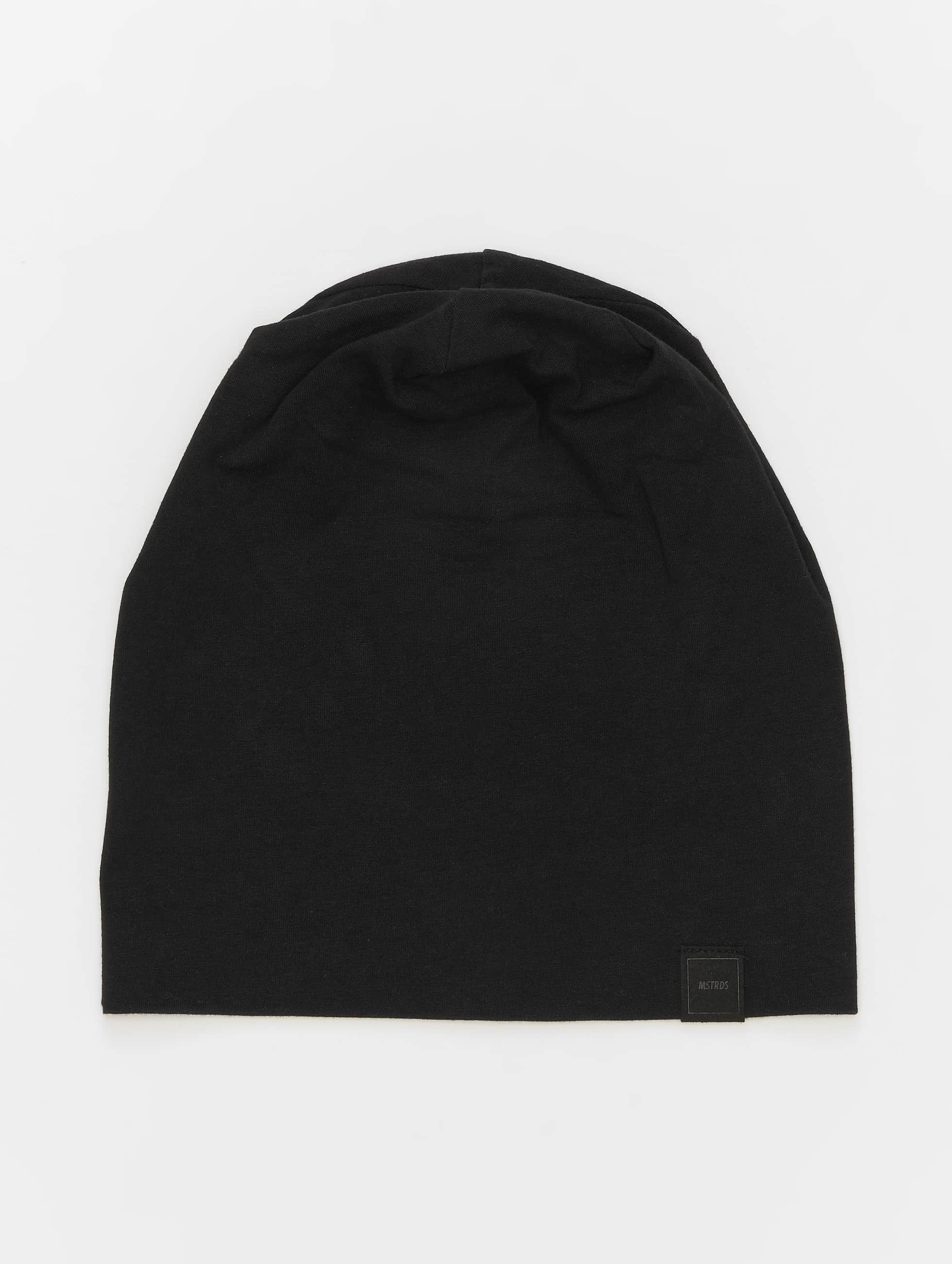 MSTRDS Beanie Jersey zwart