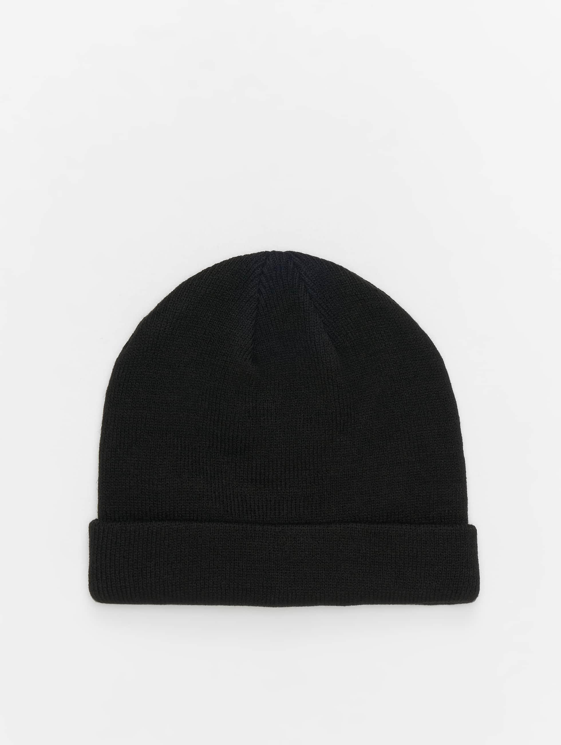MSTRDS Beanie Short Cuff Knit zwart