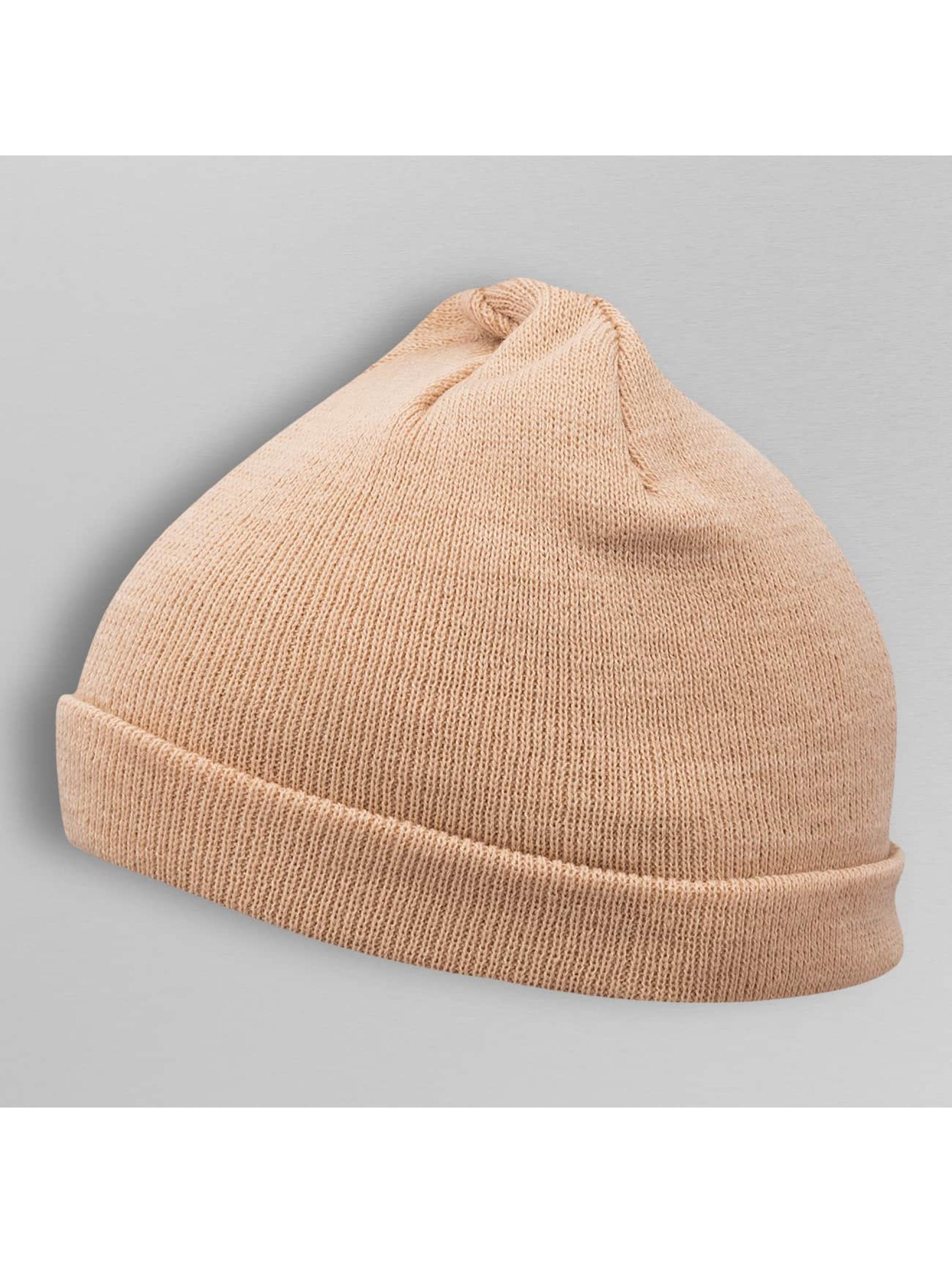 MSTRDS Bonnet Short Pastel Cuff Knit beige