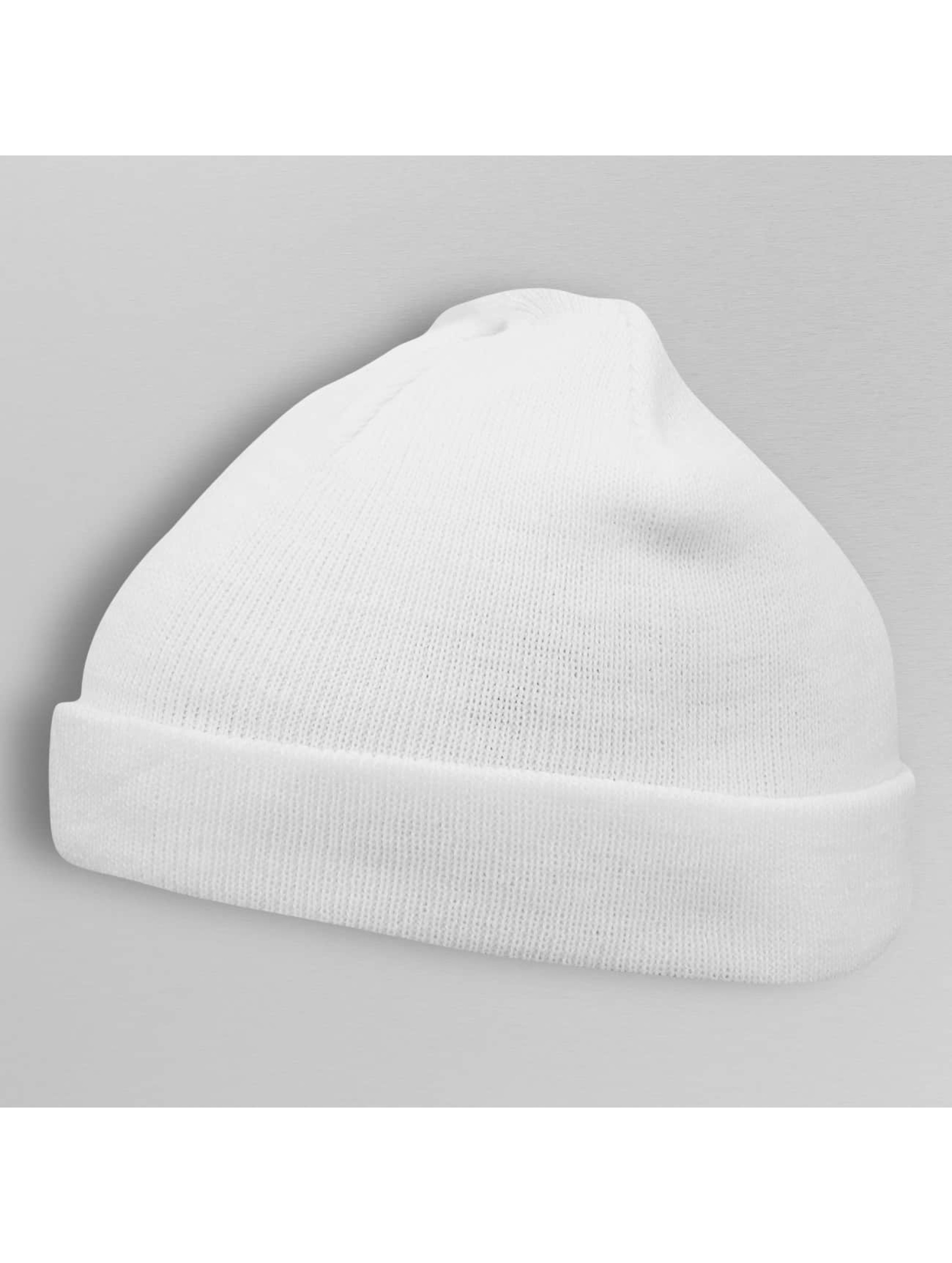 MSTRDS Bonnet Short Cuff Knit blanc