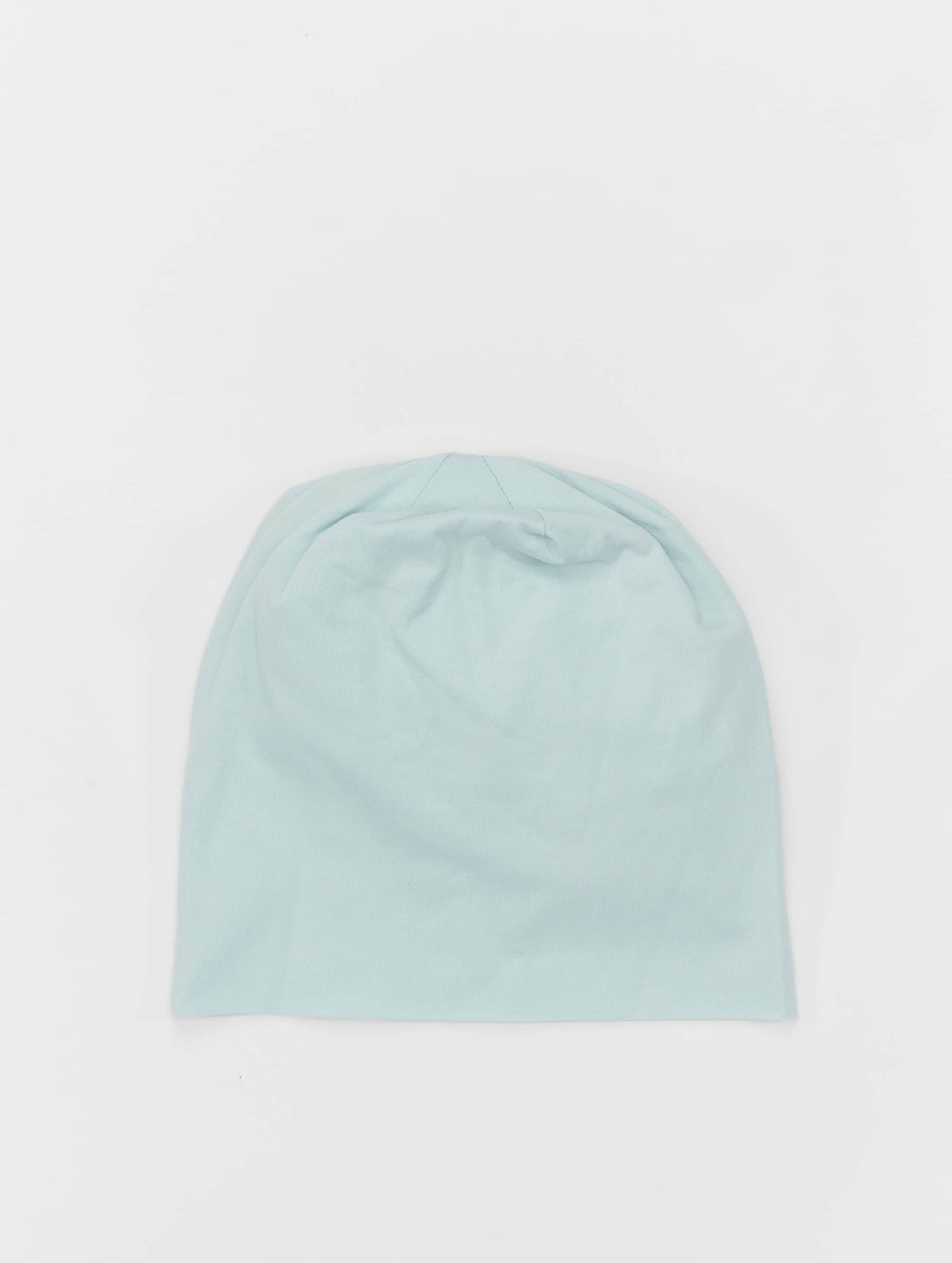 MSTRDS Bonnet Pastel Jersey bleu