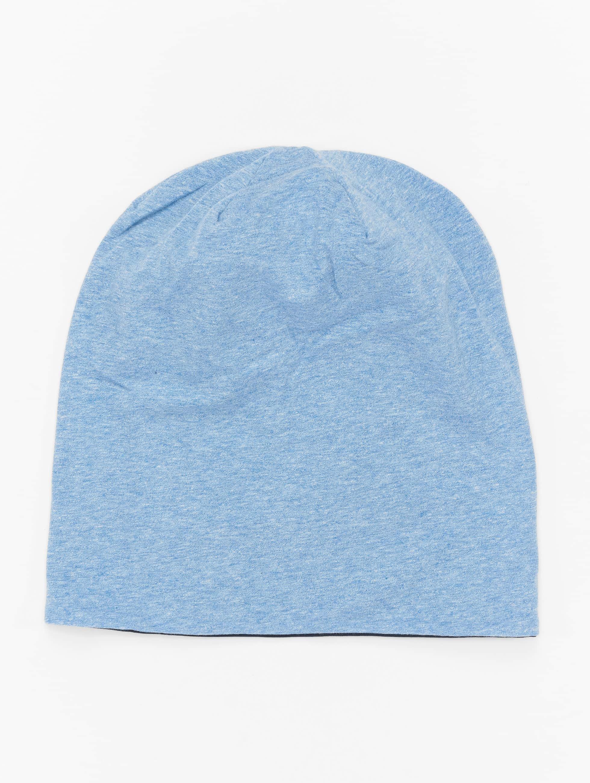 MSTRDS Bonnet Jersey Reversible bleu