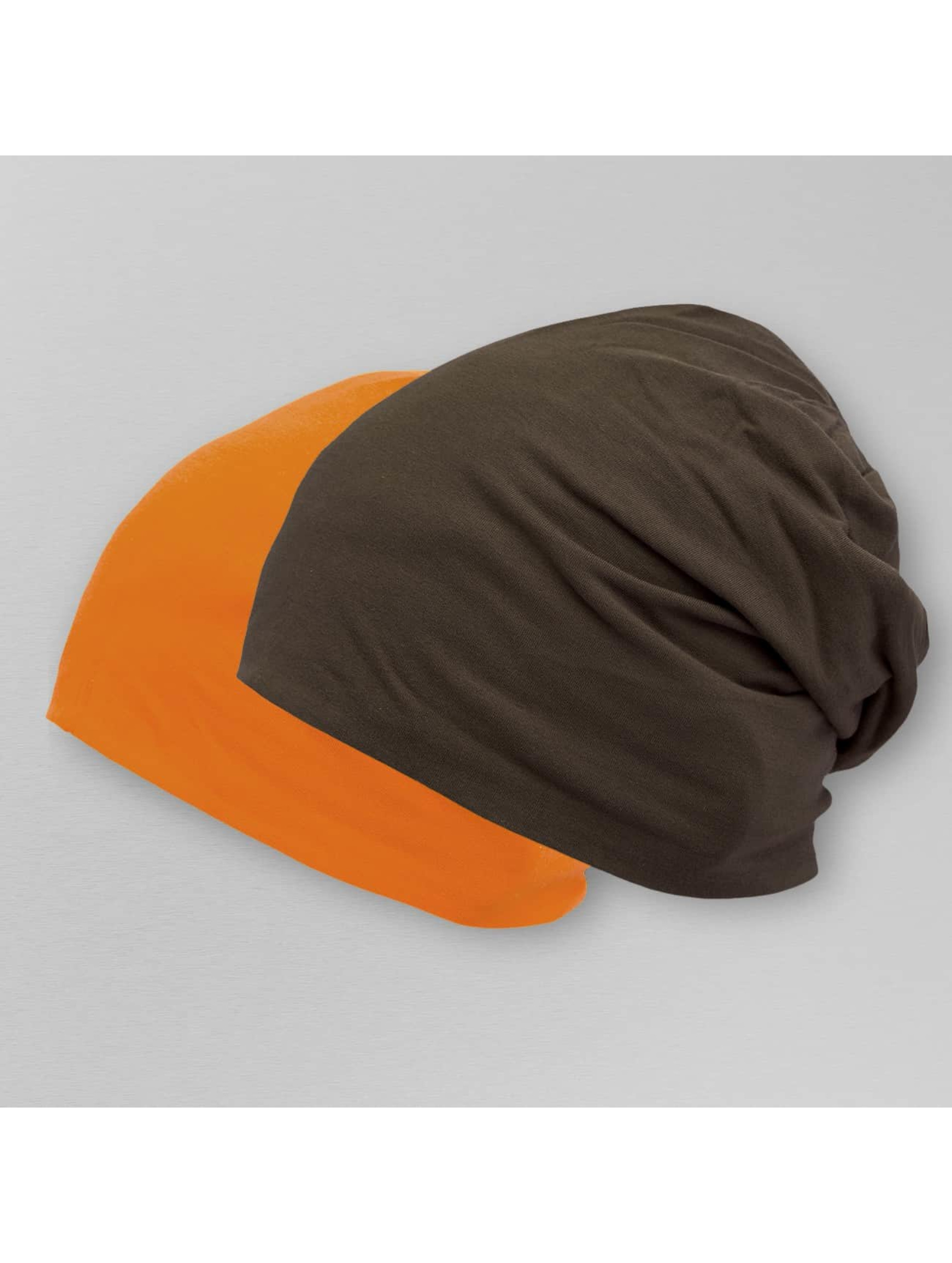 MSTRDS Bonnet Jersey Reversible brun