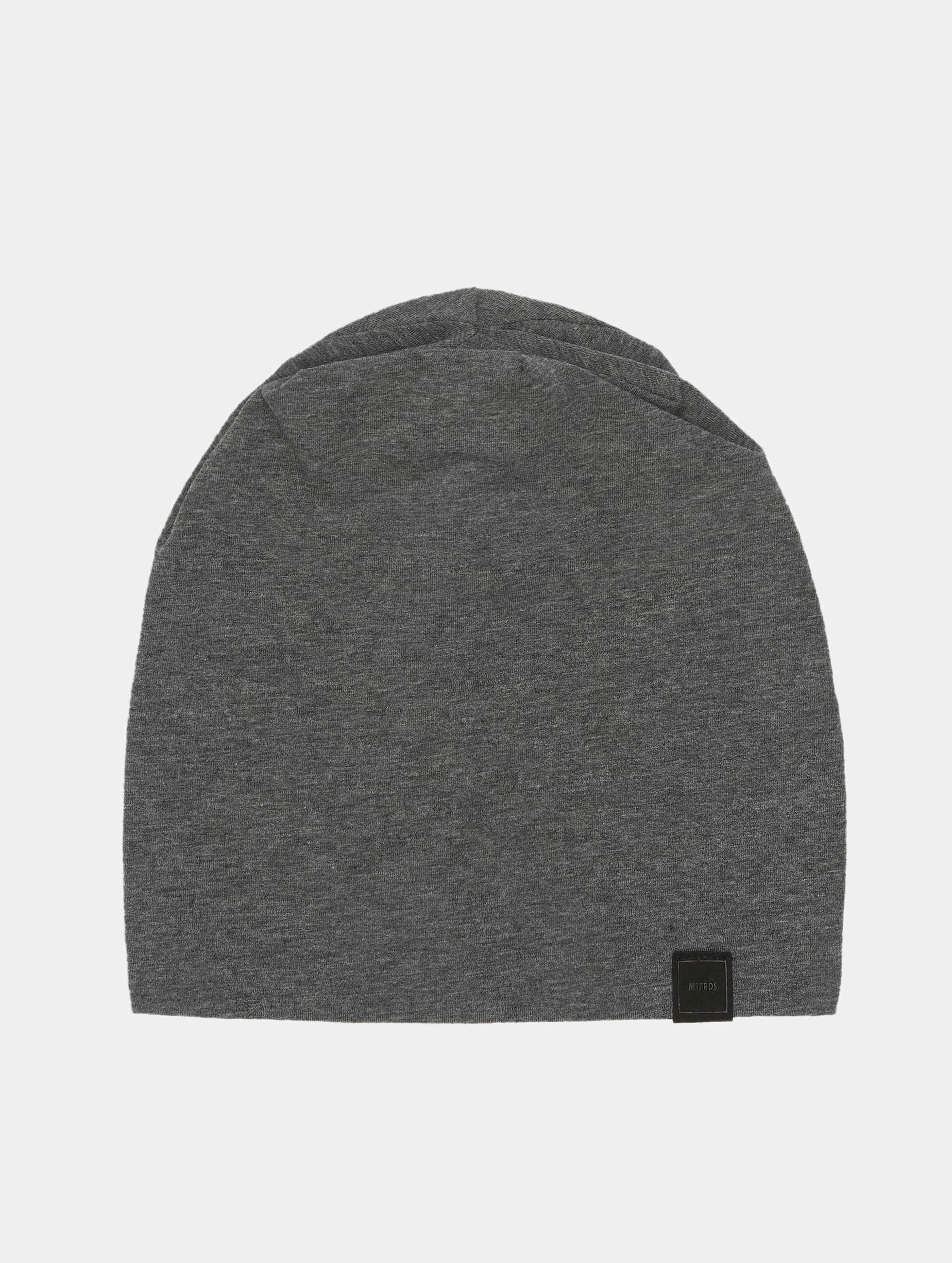MSTRDS Bonnet Jersey gris