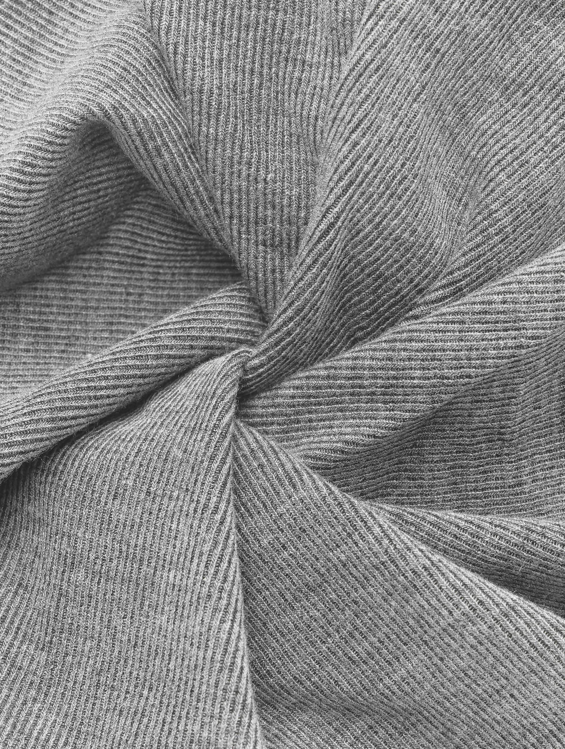 MSTRDS Bonnet Rib 2 In 1 gris