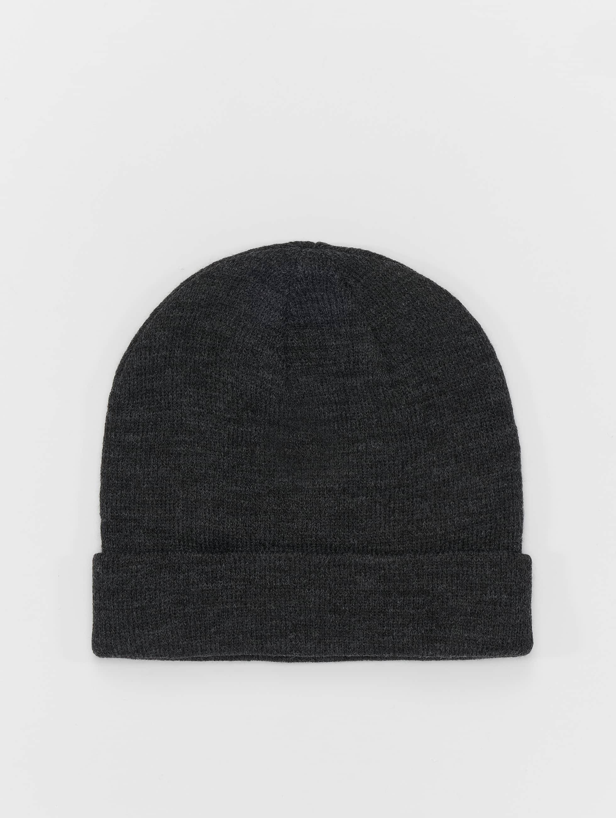 MSTRDS Bonnet Short Cuff Knit gris