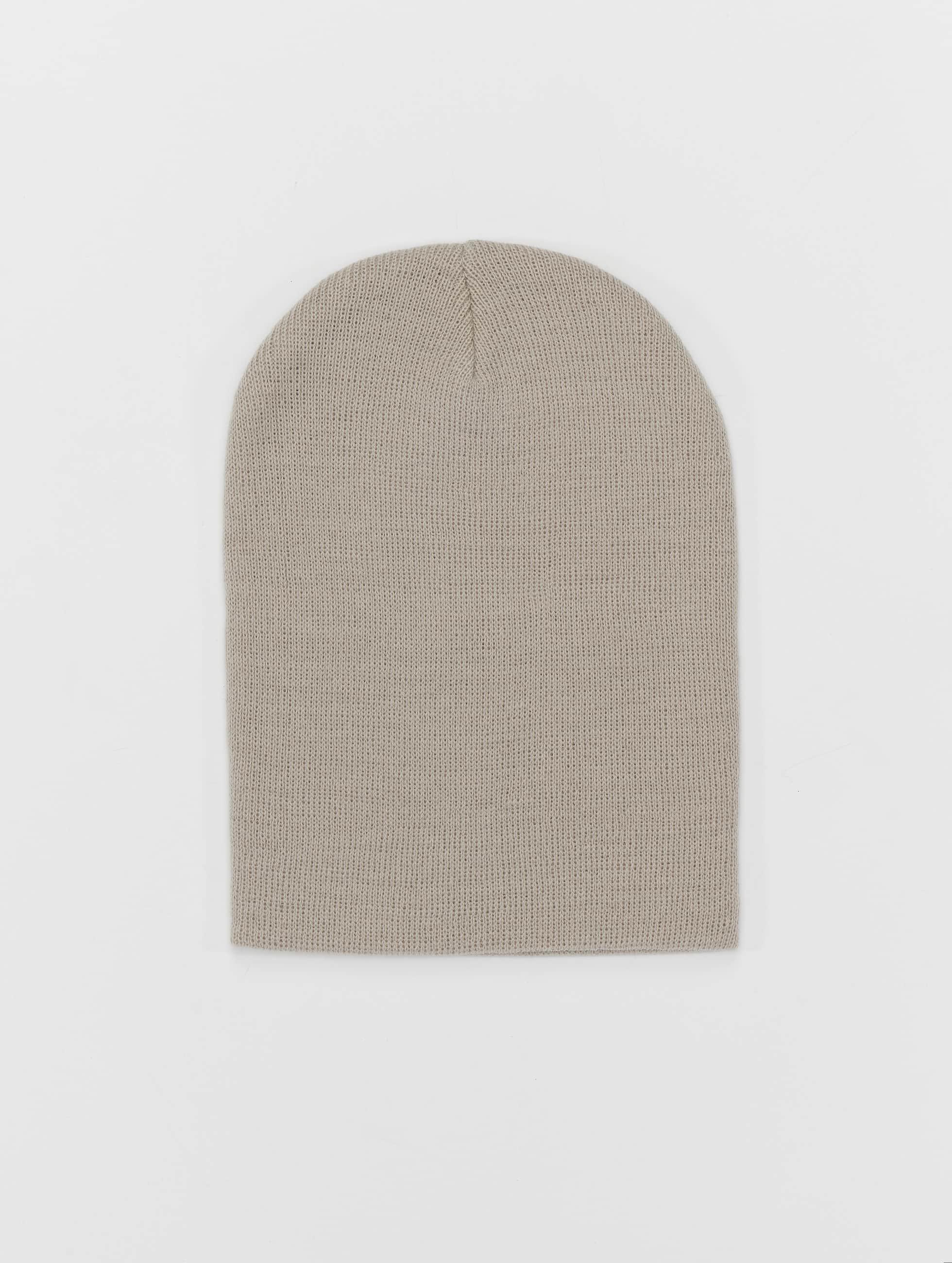 MSTRDS Bonnet Pastel Basic Flap gris