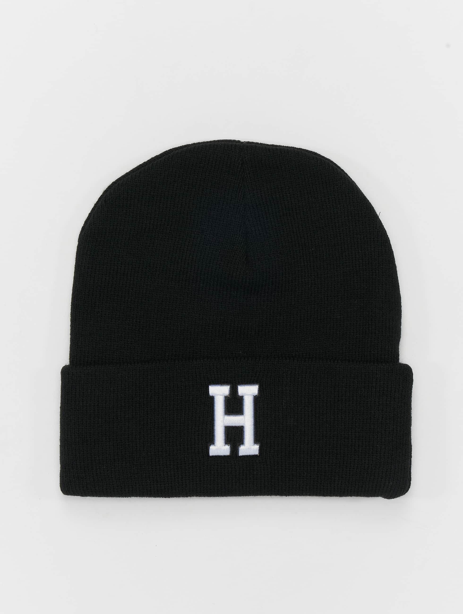 MSTRDS Bonnet H Letter noir