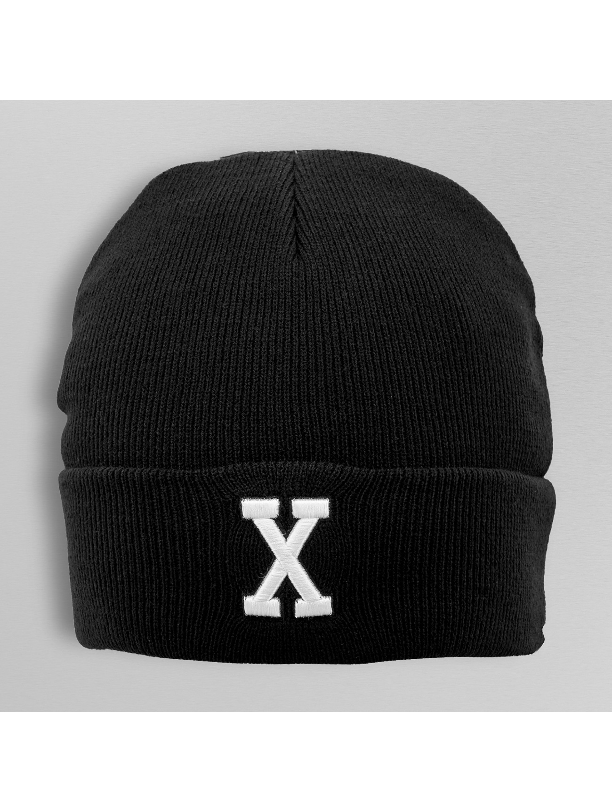 MSTRDS Bonnet X Letter noir