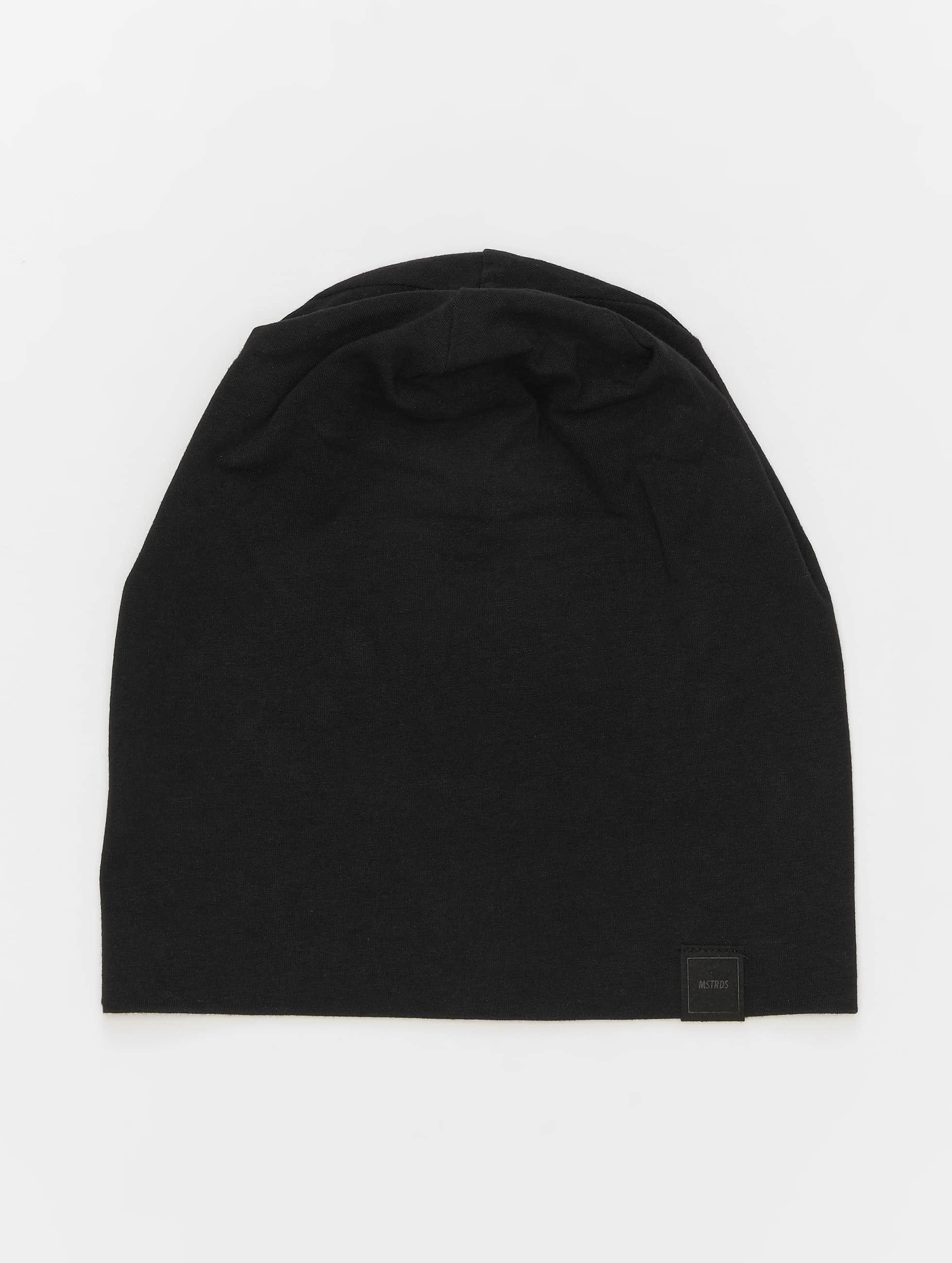 MSTRDS Bonnet Jersey noir