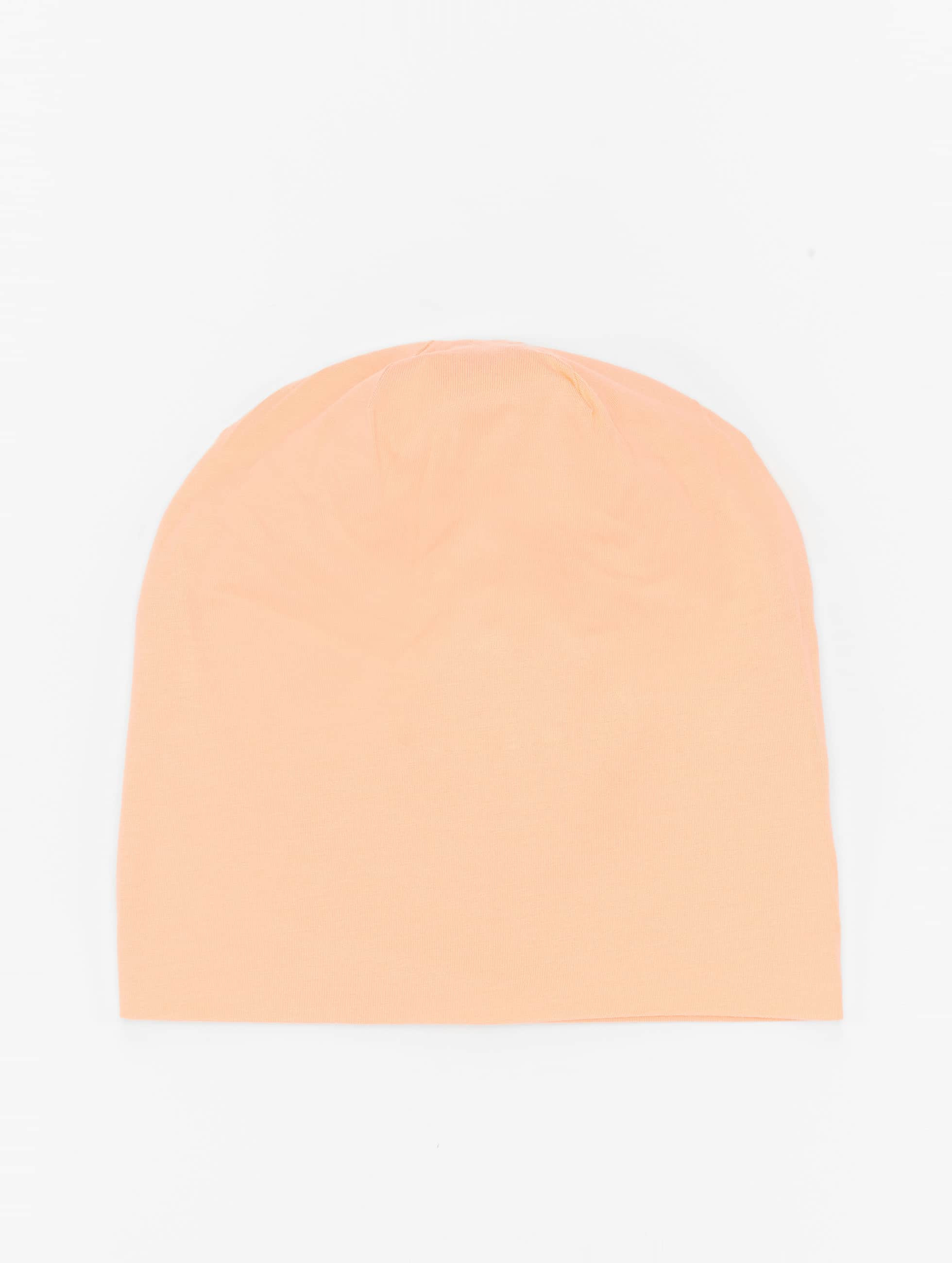 MSTRDS Bonnet Pastel Jersey orange