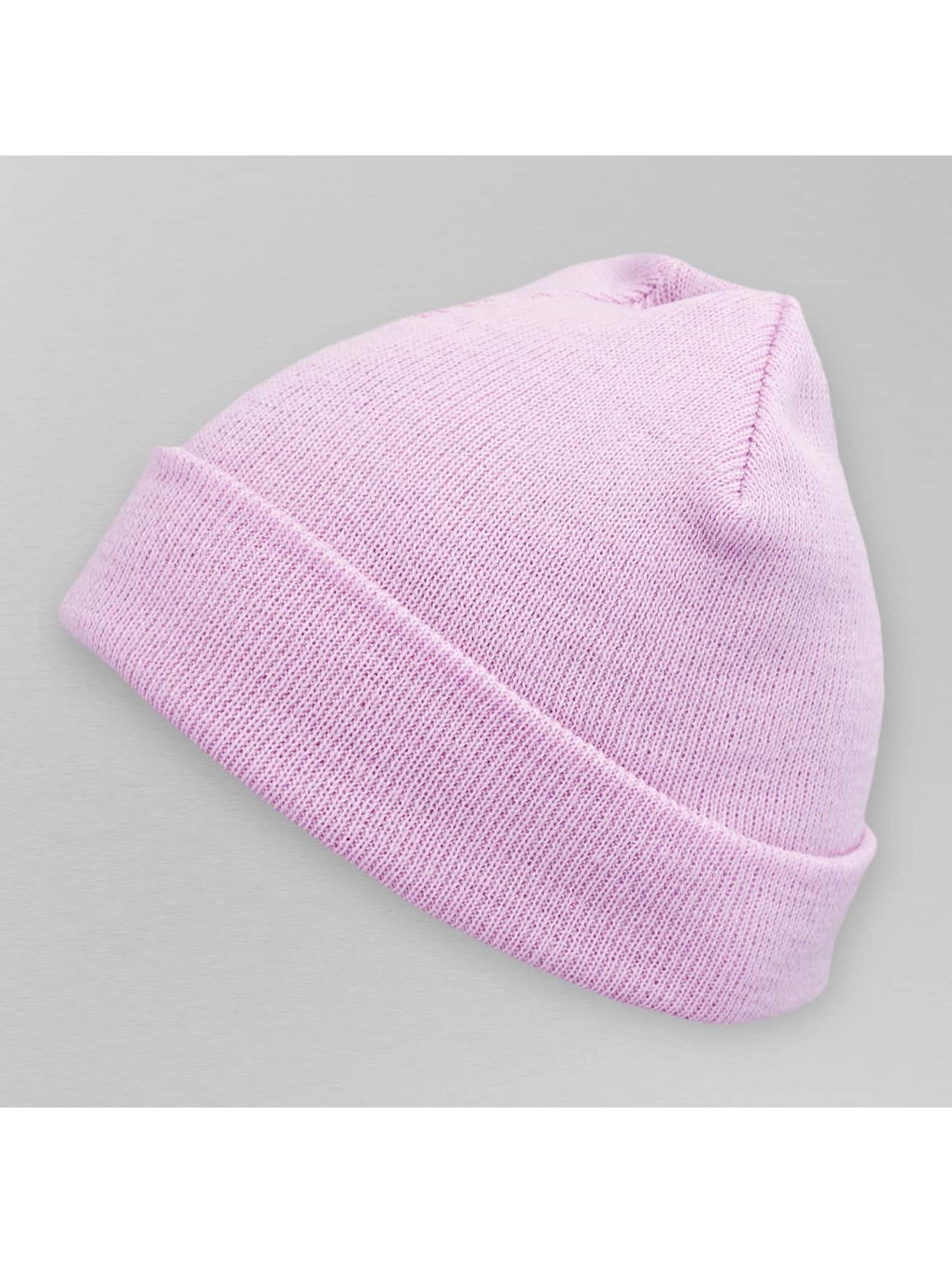 MSTRDS Bonnet Pastel Basic Flap pourpre