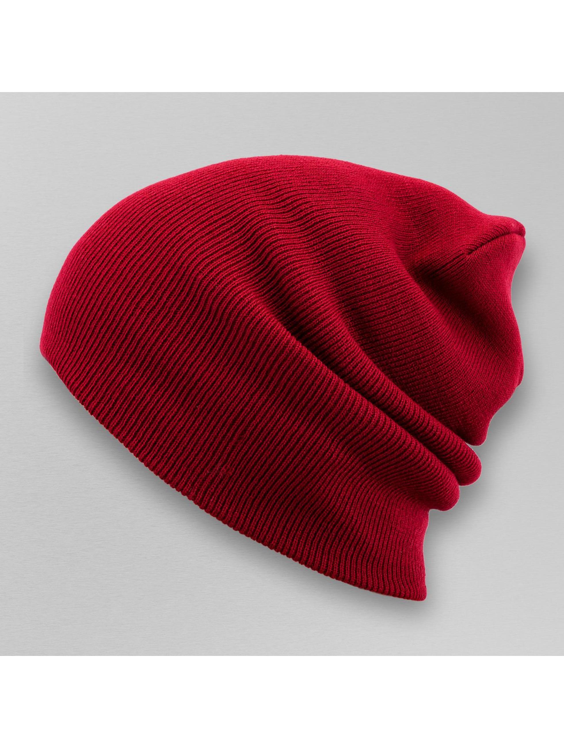 MSTRDS Bonnet Basic Flap Long rouge