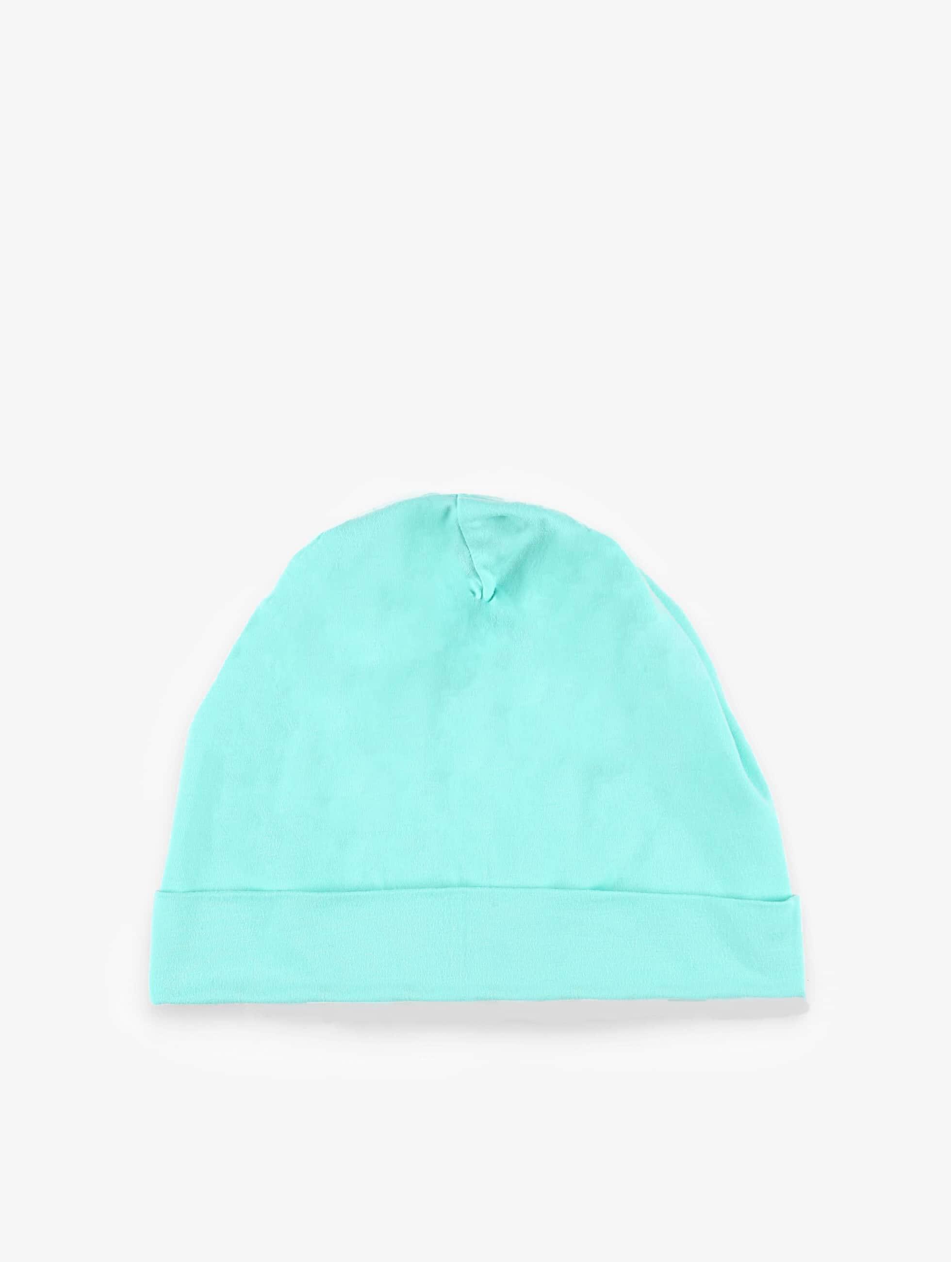 MSTRDS Bonnet Pastel Jersey turquoise