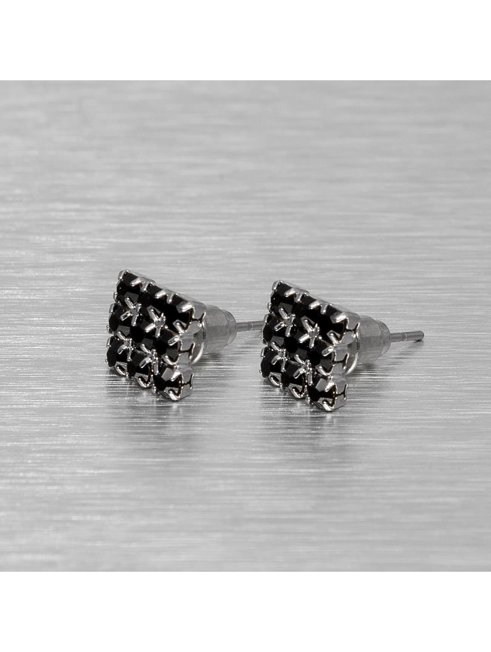 MSTRDS Boucles d'oreilles Flat argent