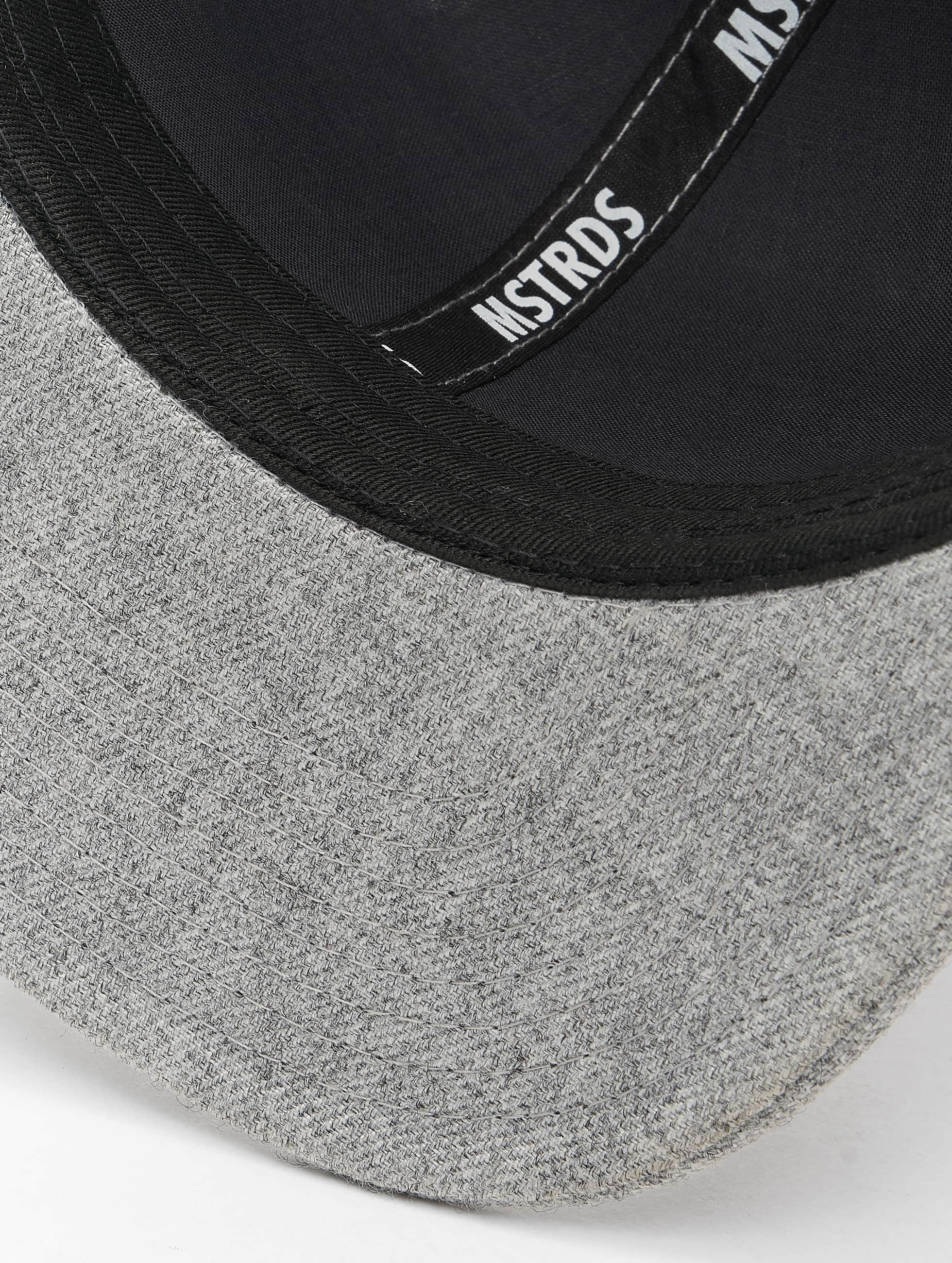 MSTRDS Casquette Snapback & Strapback B Letter gris