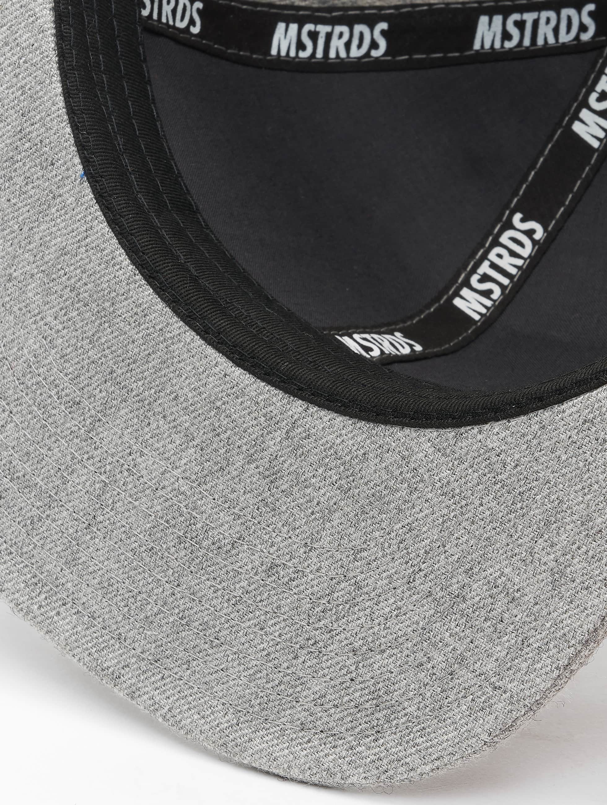 MSTRDS Casquette Snapback & Strapback U Letter gris