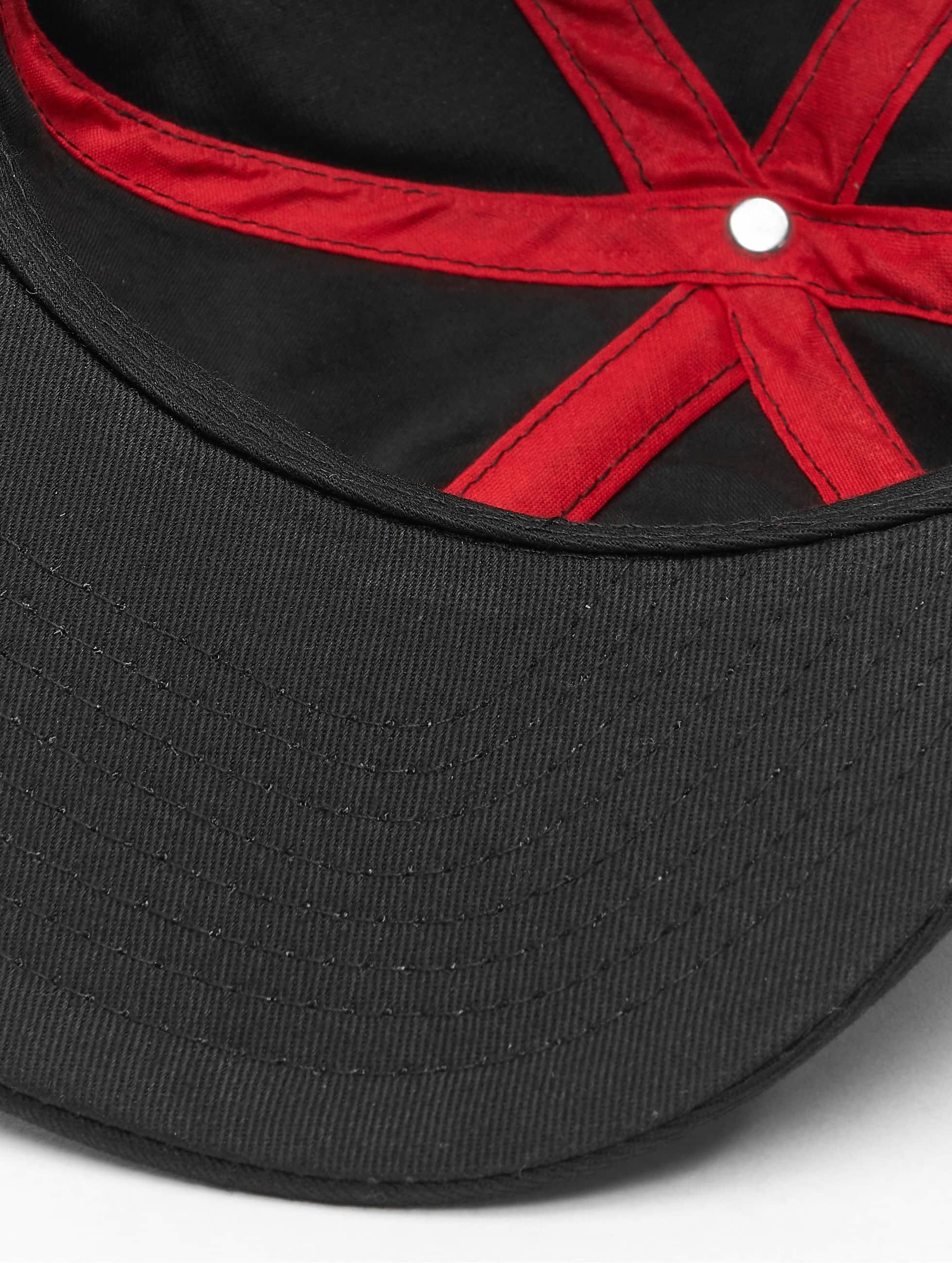 MSTRDS Casquette Snapback & Strapback N Letter noir