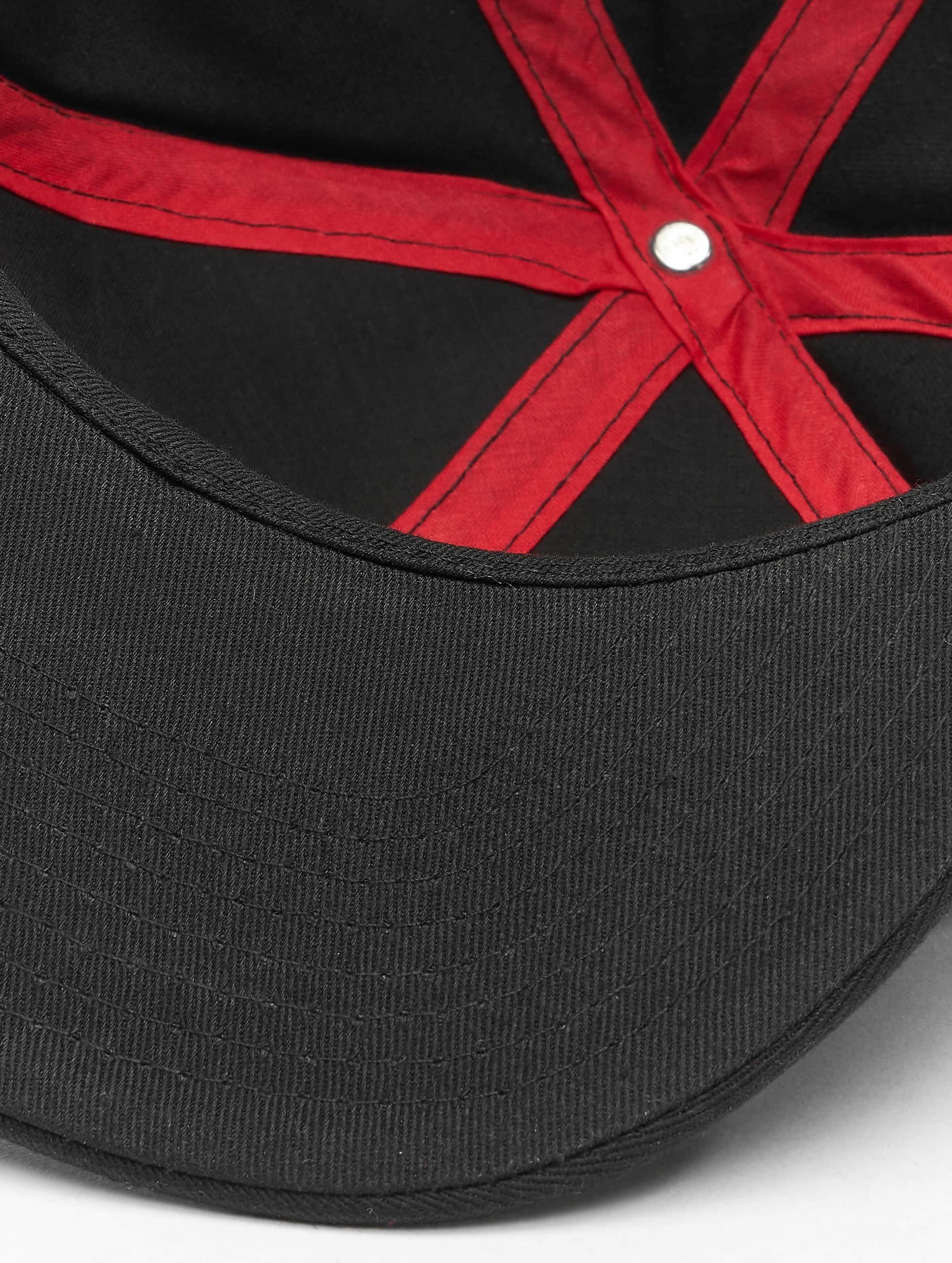 MSTRDS Casquette Snapback & Strapback Z Lette noir