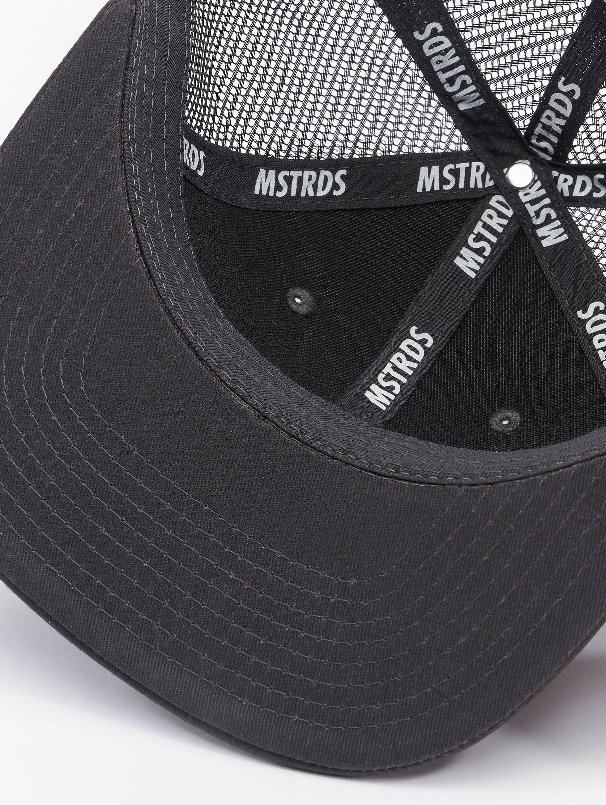 MSTRDS Casquette Trucker mesh Money Clip gris