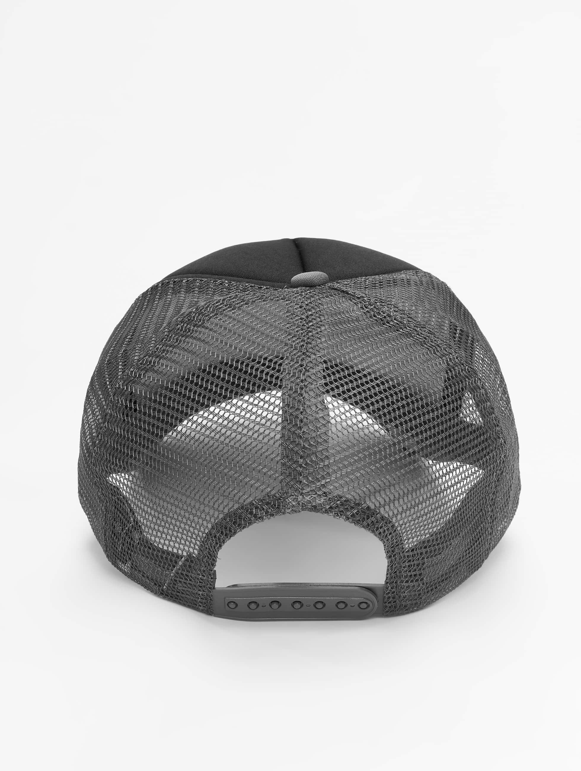 MSTRDS Casquette Trucker mesh High Profile Baseball gris