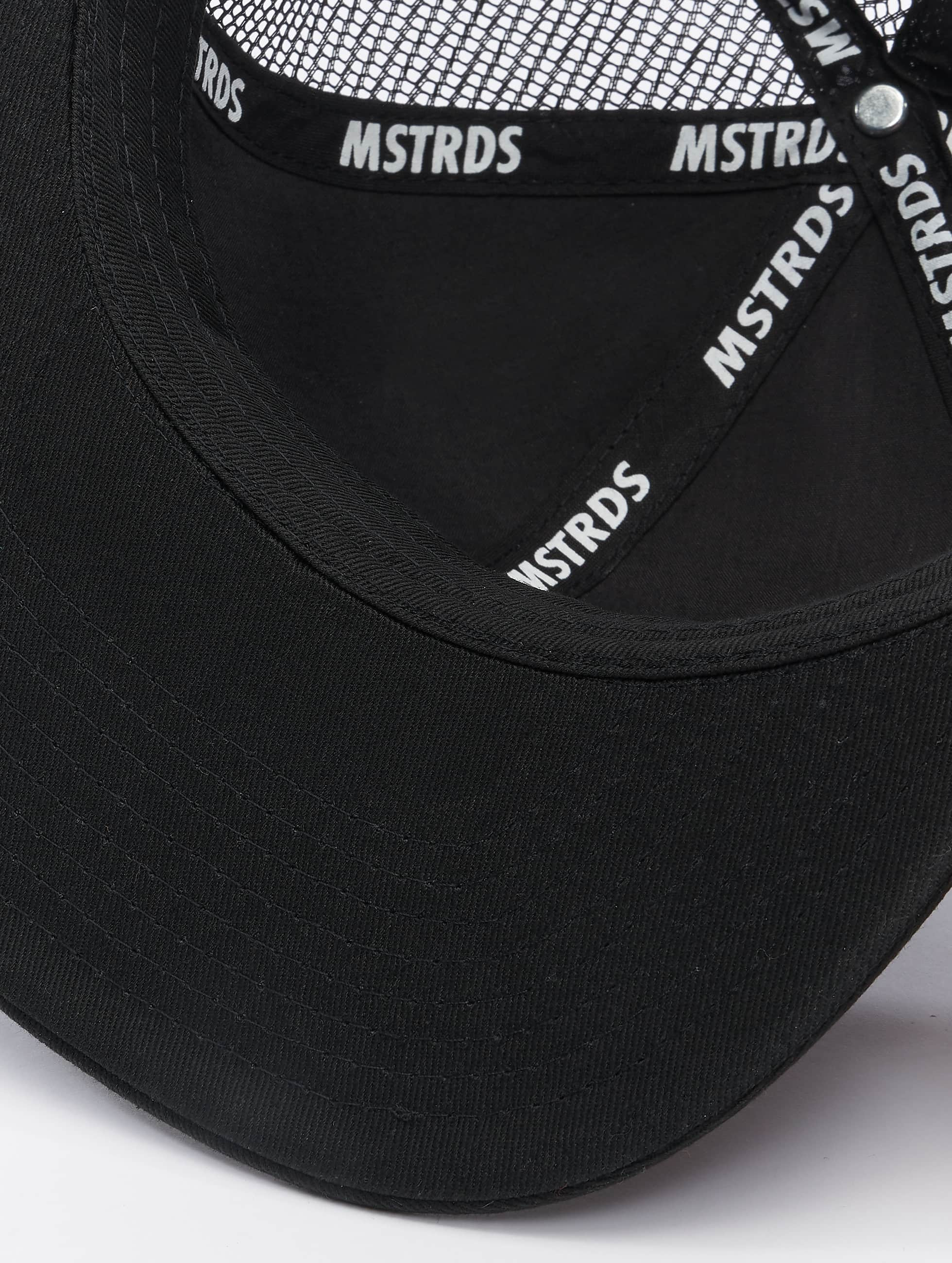 MSTRDS Casquette Trucker mesh Money Clip noir
