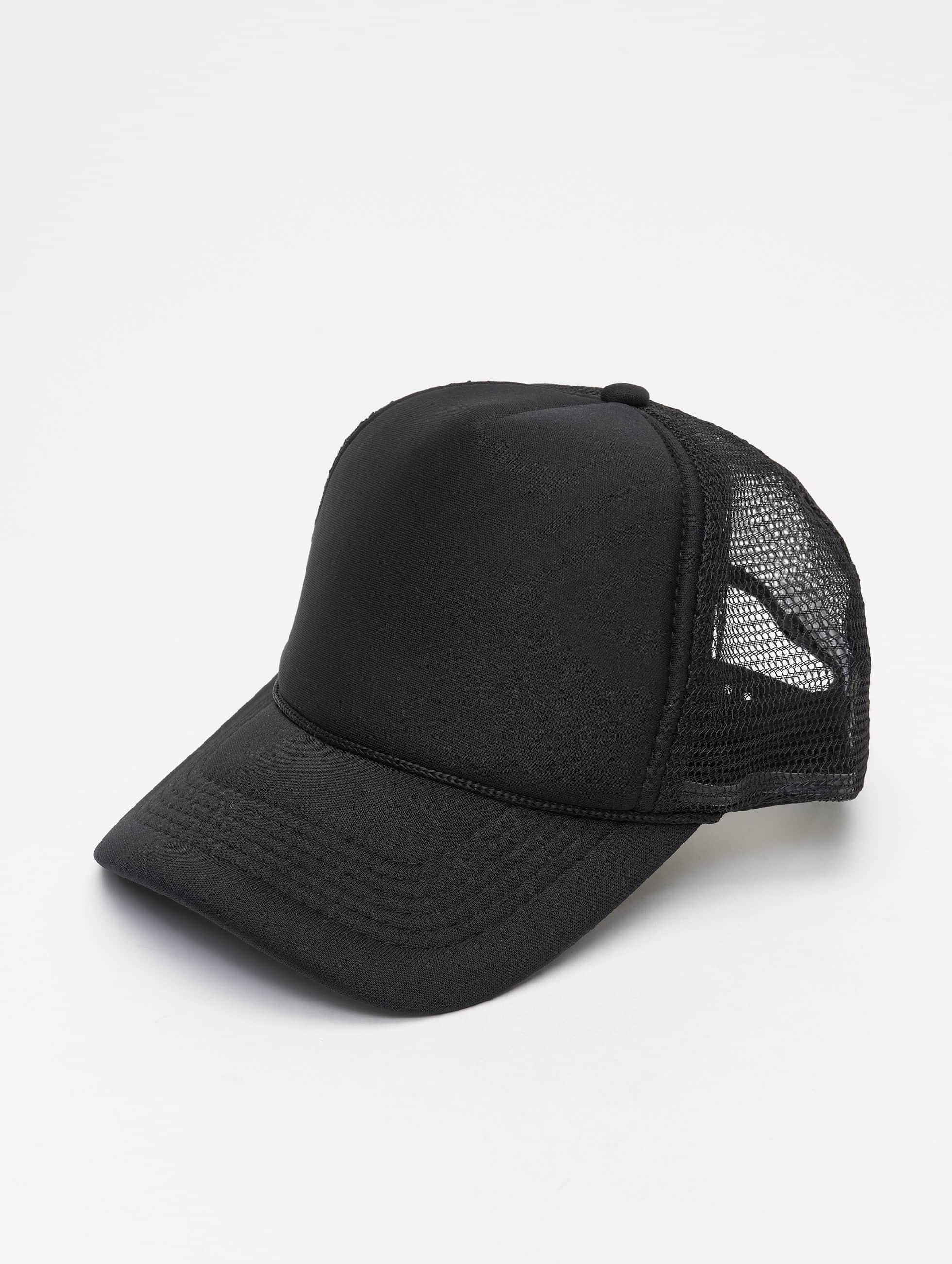 MSTRDS Casquette Trucker mesh High Profile Baseball noir