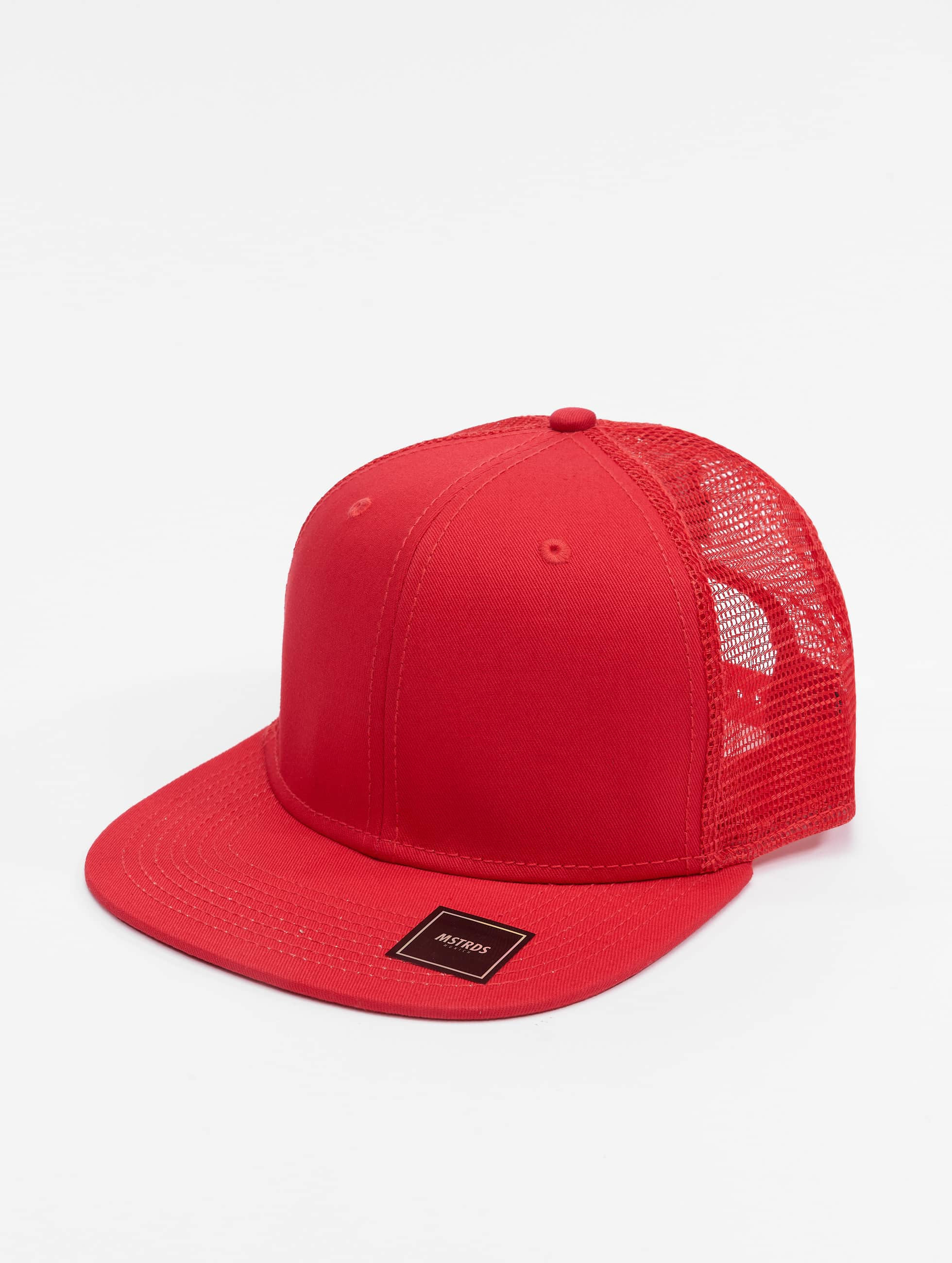 MSTRDS Casquette Trucker mesh Money Clip rouge