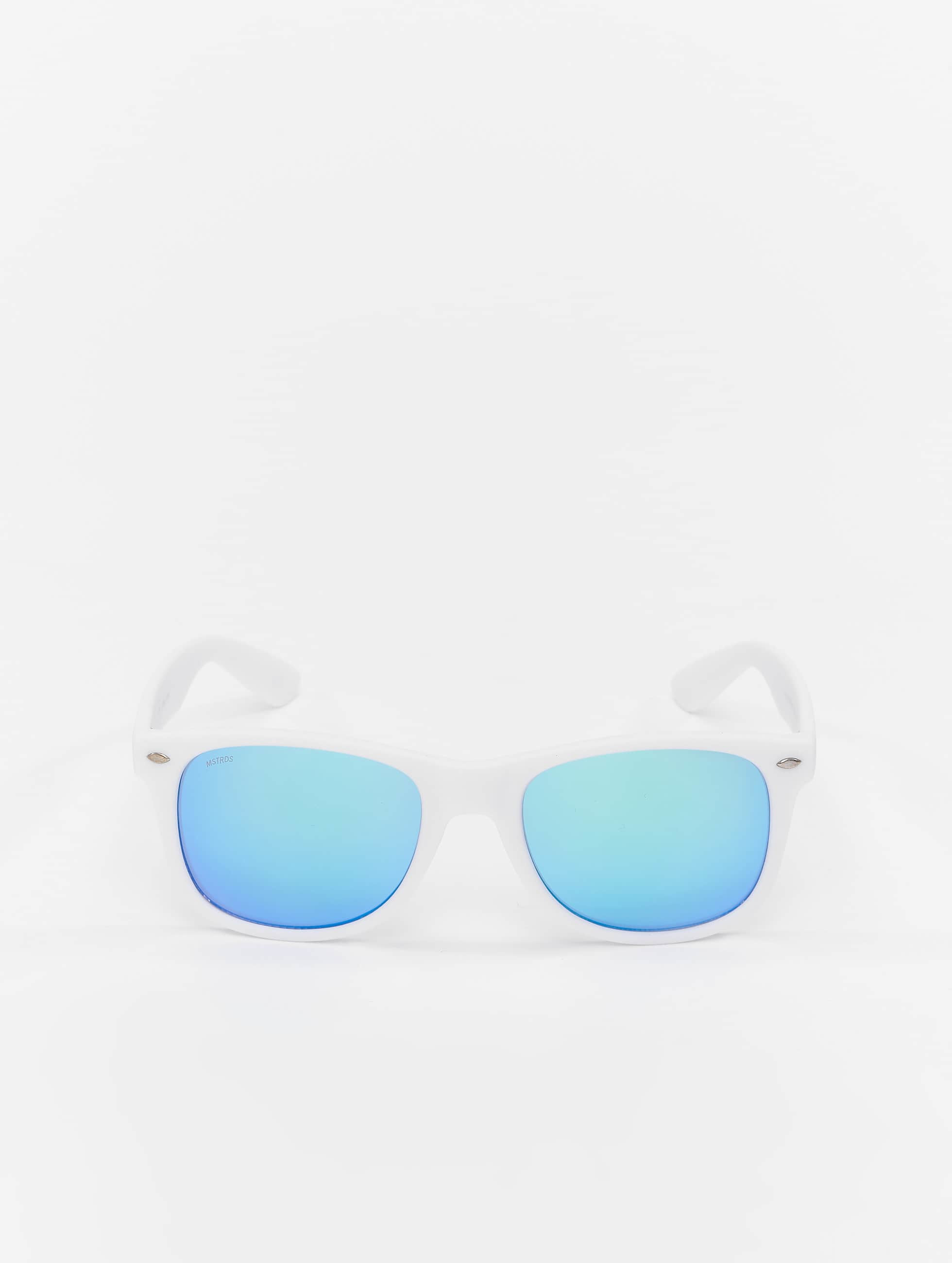 MSTRDS Lunettes de soleil Likoma Mirror blanc