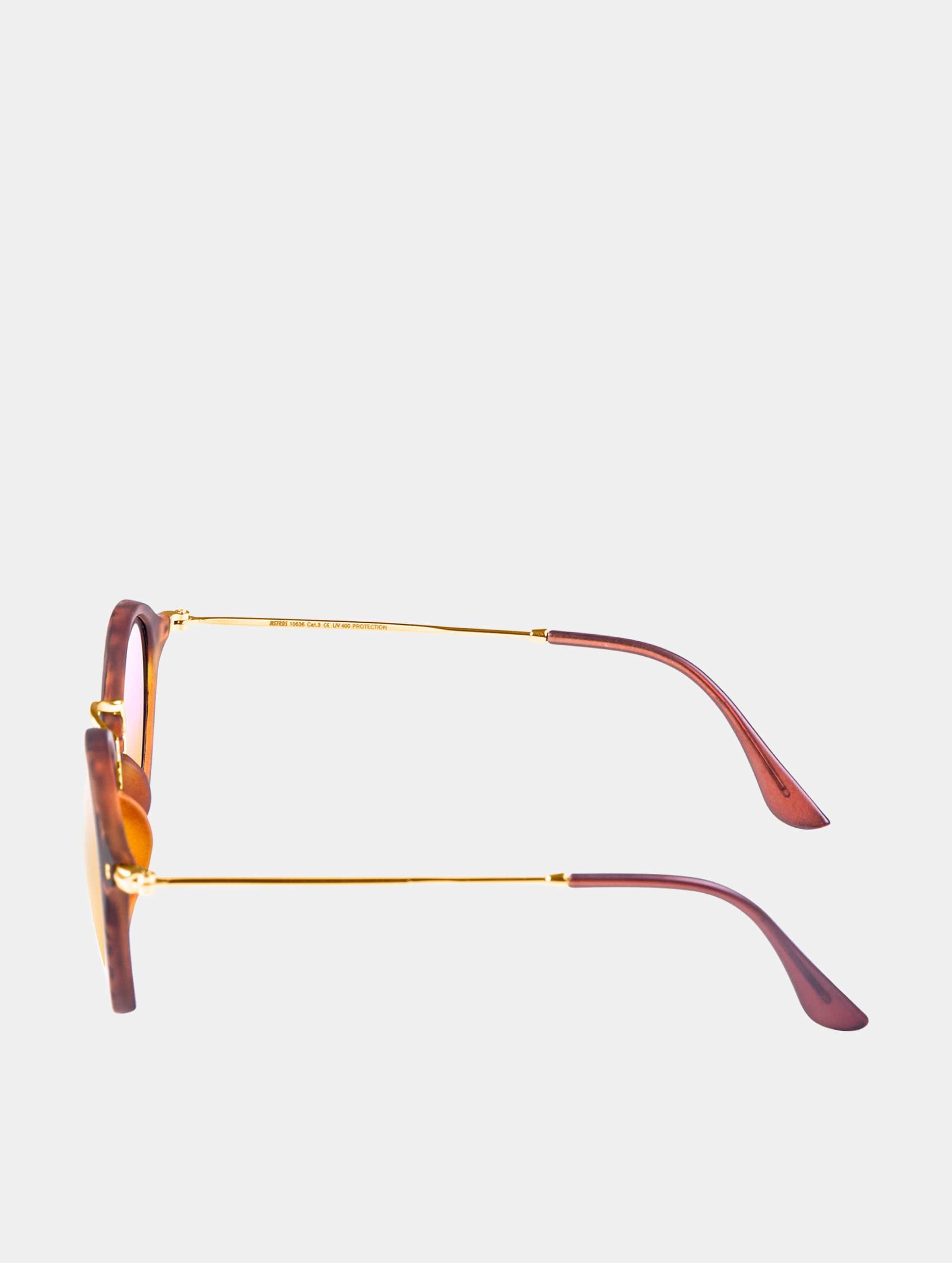 MSTRDS Lunettes de soleil Spy Polarized Mirror brun