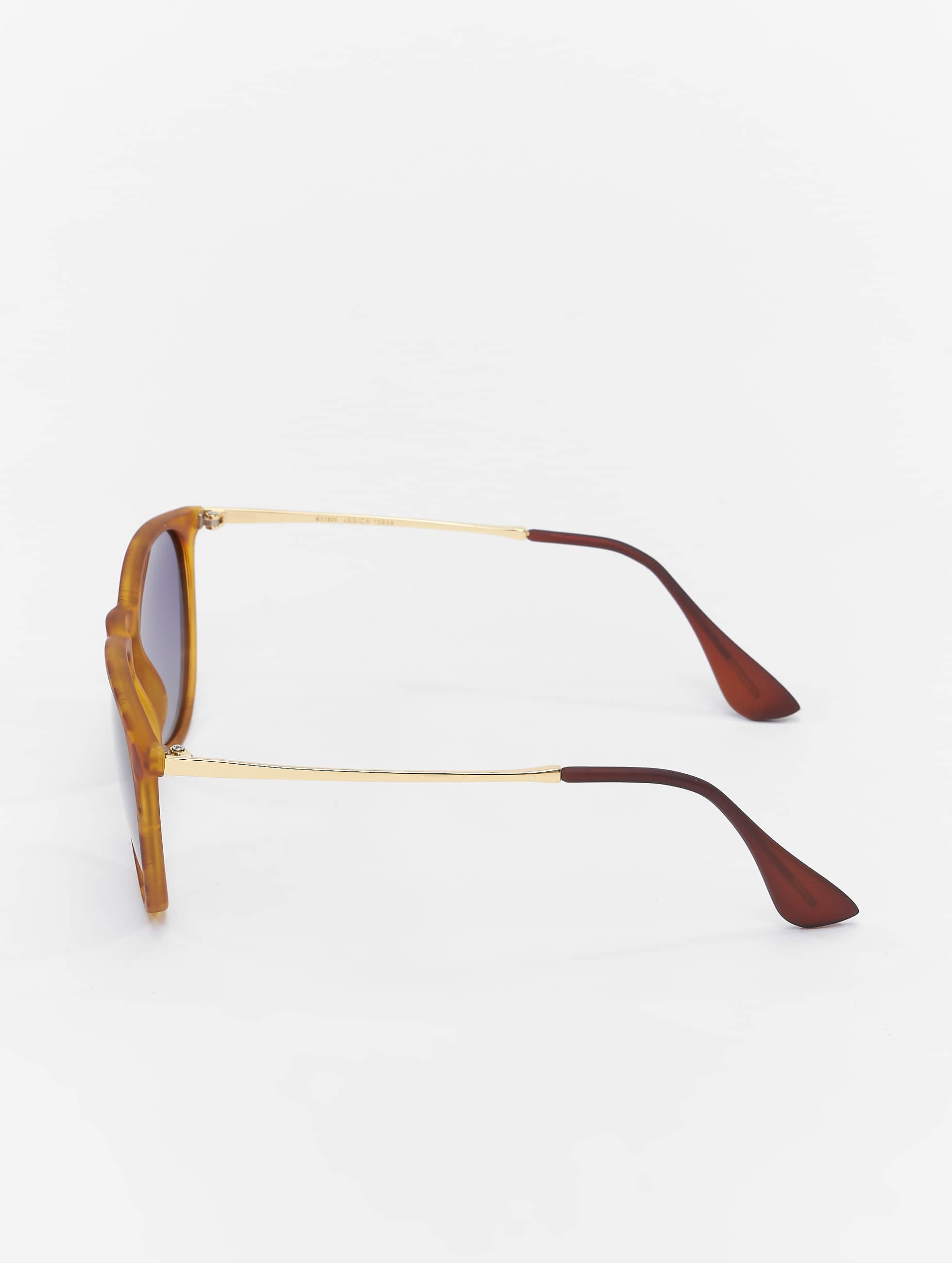 MSTRDS Lunettes de soleil Jesica Polarized Mirror brun