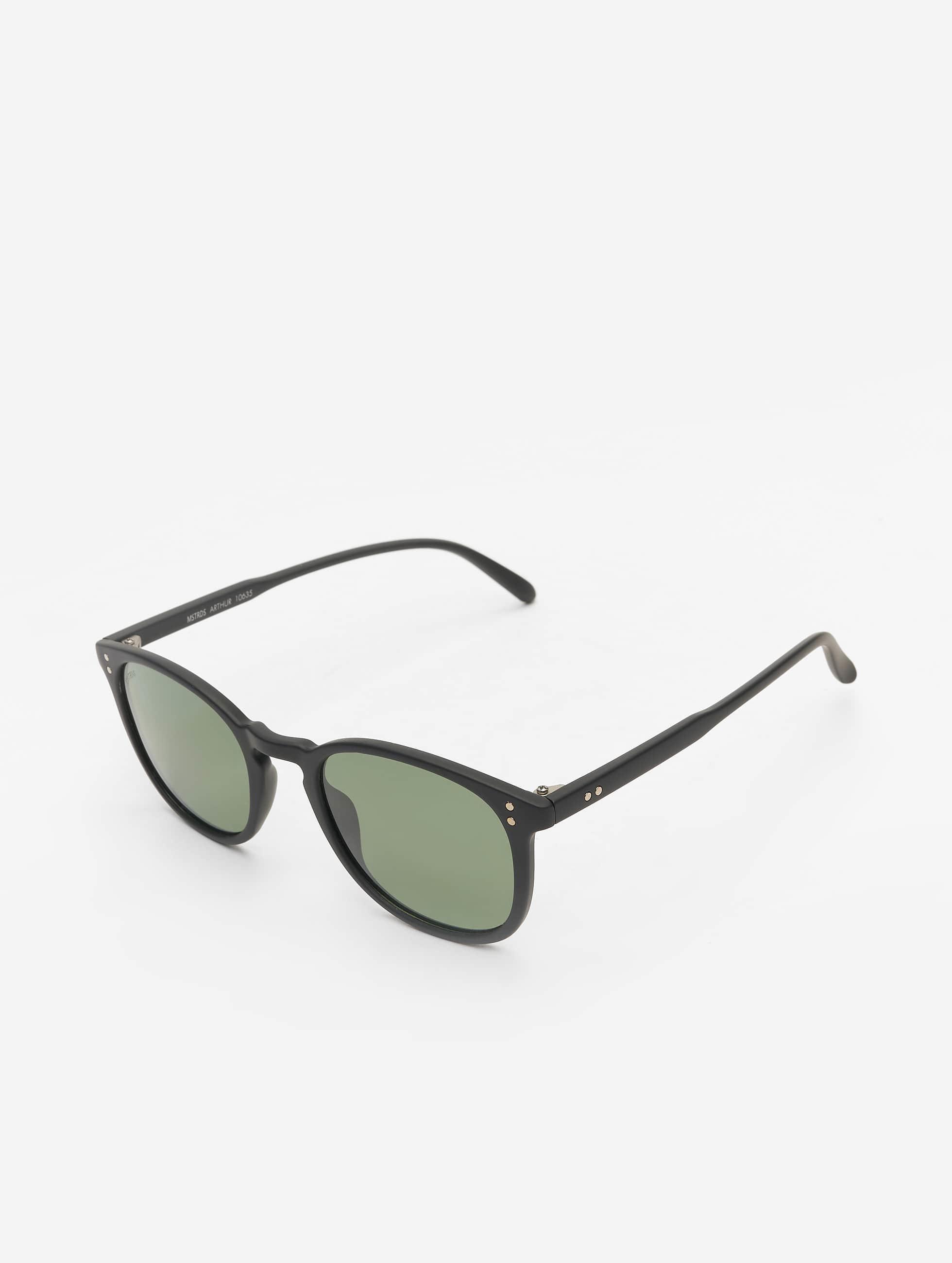 MSTRDS Lunettes de soleil Arthur Polarized Mirror noir