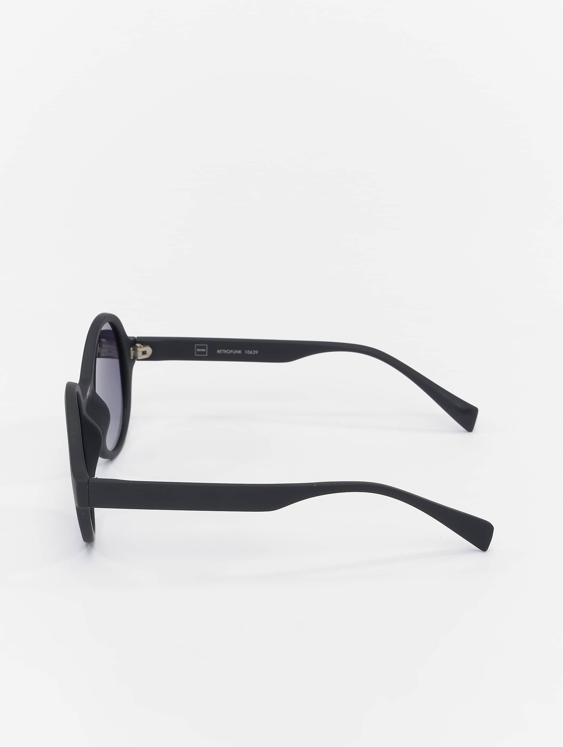 MSTRDS Okulary Retro Funk Polarized Mirror czarny