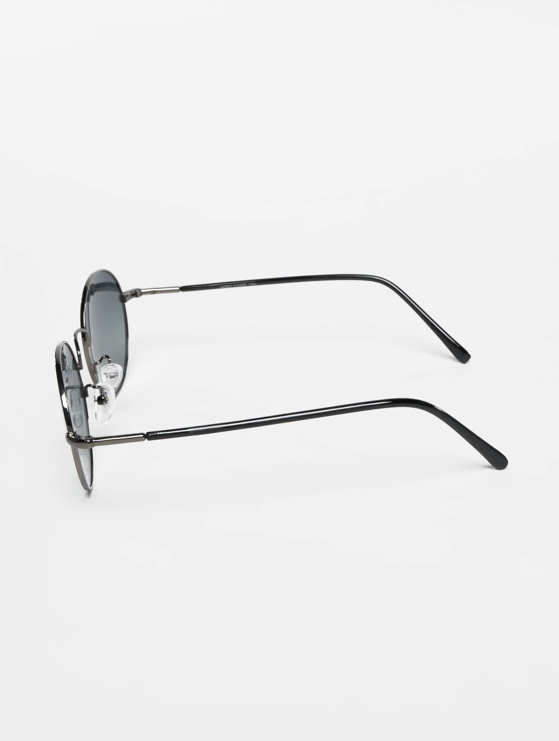 MSTRDS Okulary Flower Mirror srebrny