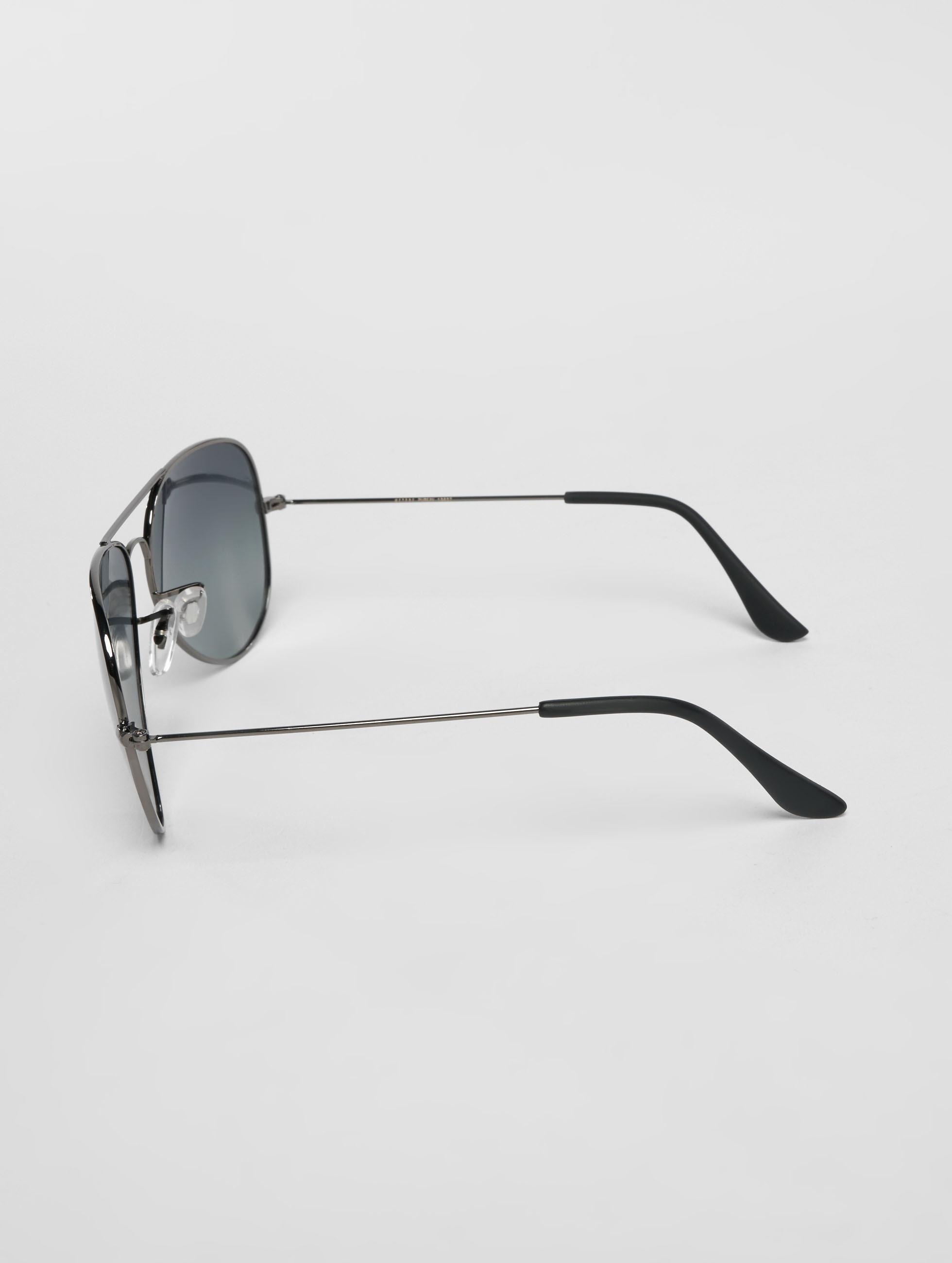 MSTRDS Okulary Pure AV Polarized Mirror srebrny