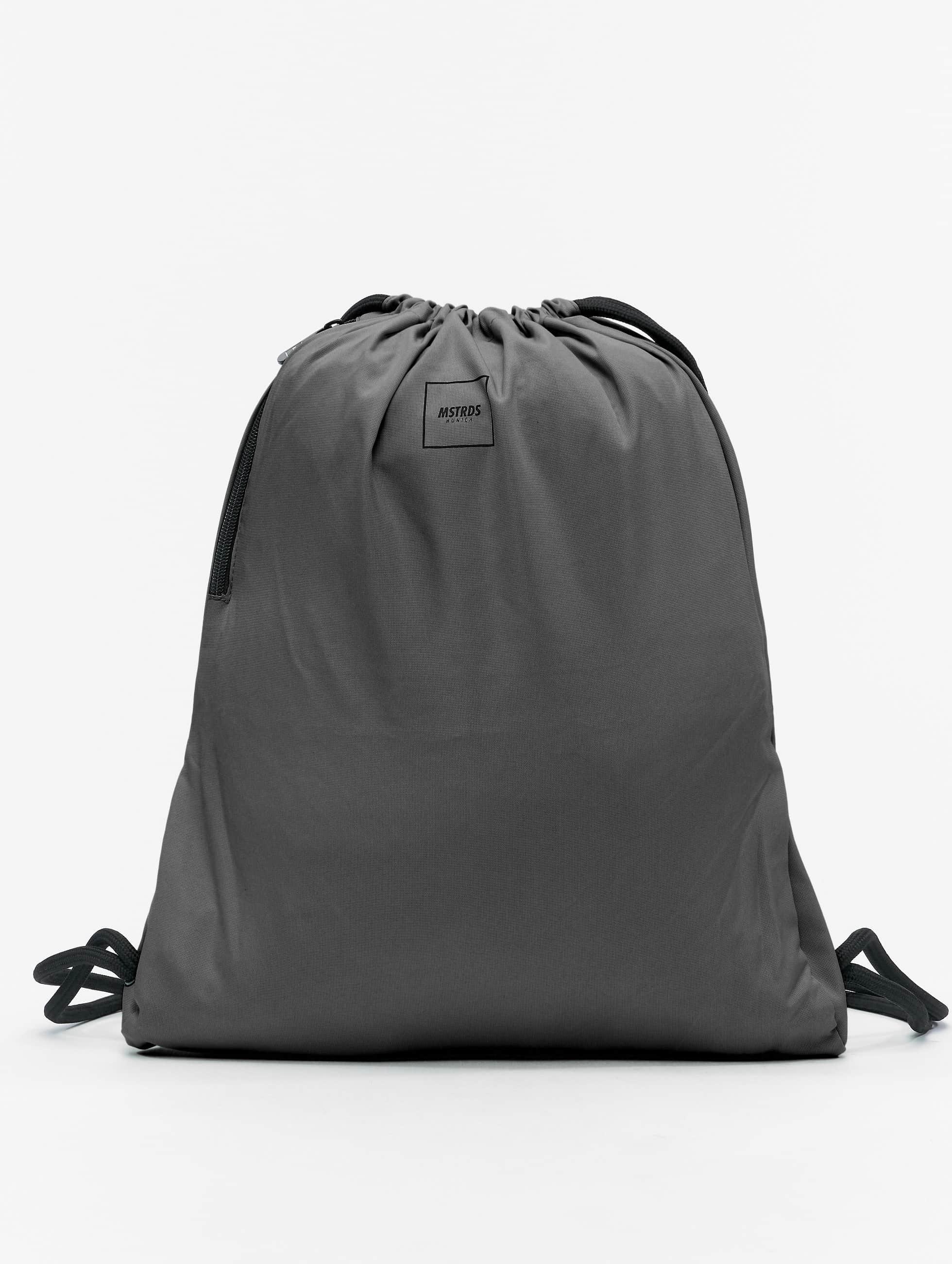 MSTRDS Accessoires / Sac à cordons Basic en gris
