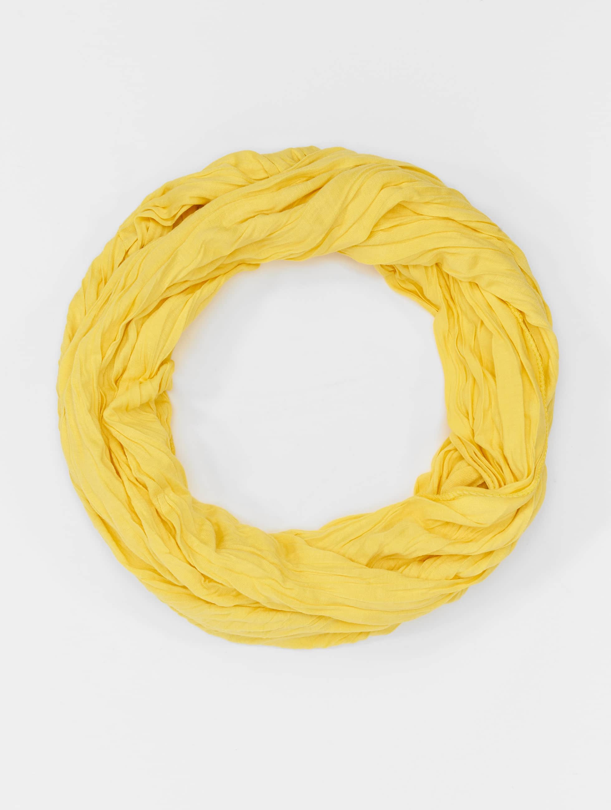 MSTRDS Schal Wrinkle Loop gelb