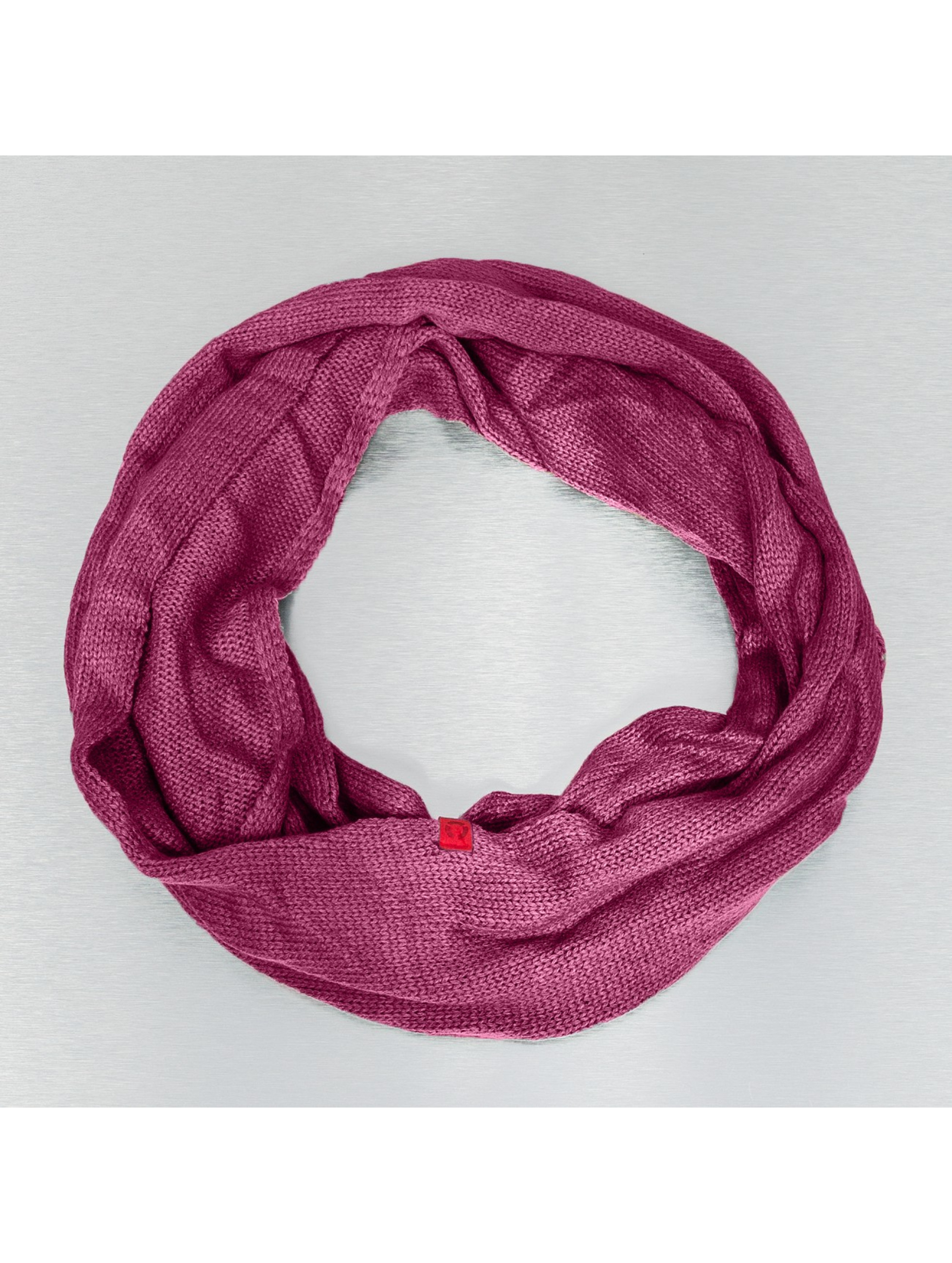 MSTRDS sjaal Plain Loop rood